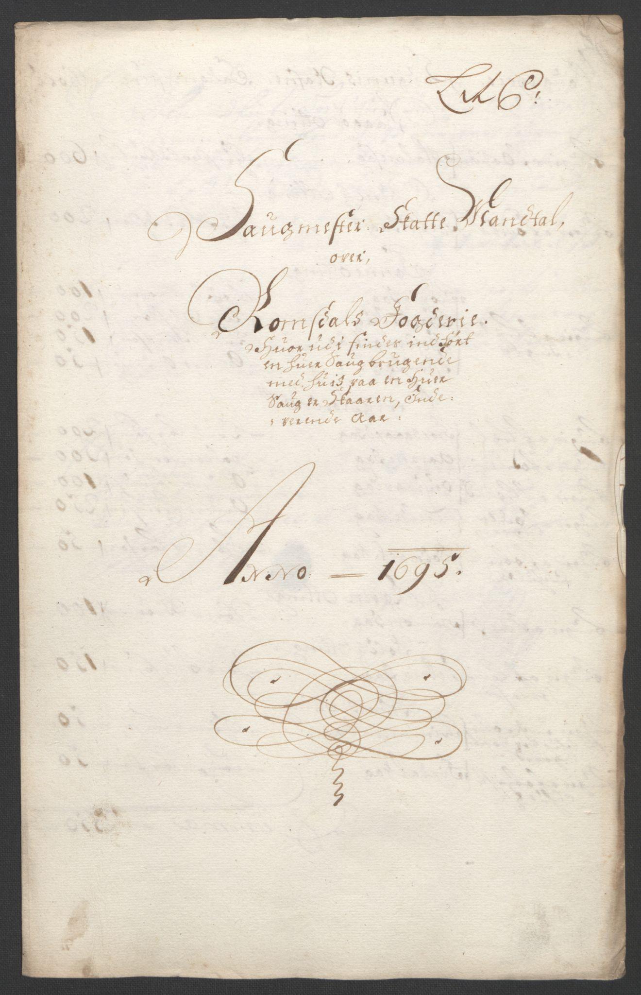 RA, Rentekammeret inntil 1814, Reviderte regnskaper, Fogderegnskap, R55/L3652: Fogderegnskap Romsdal, 1695-1696, s. 69