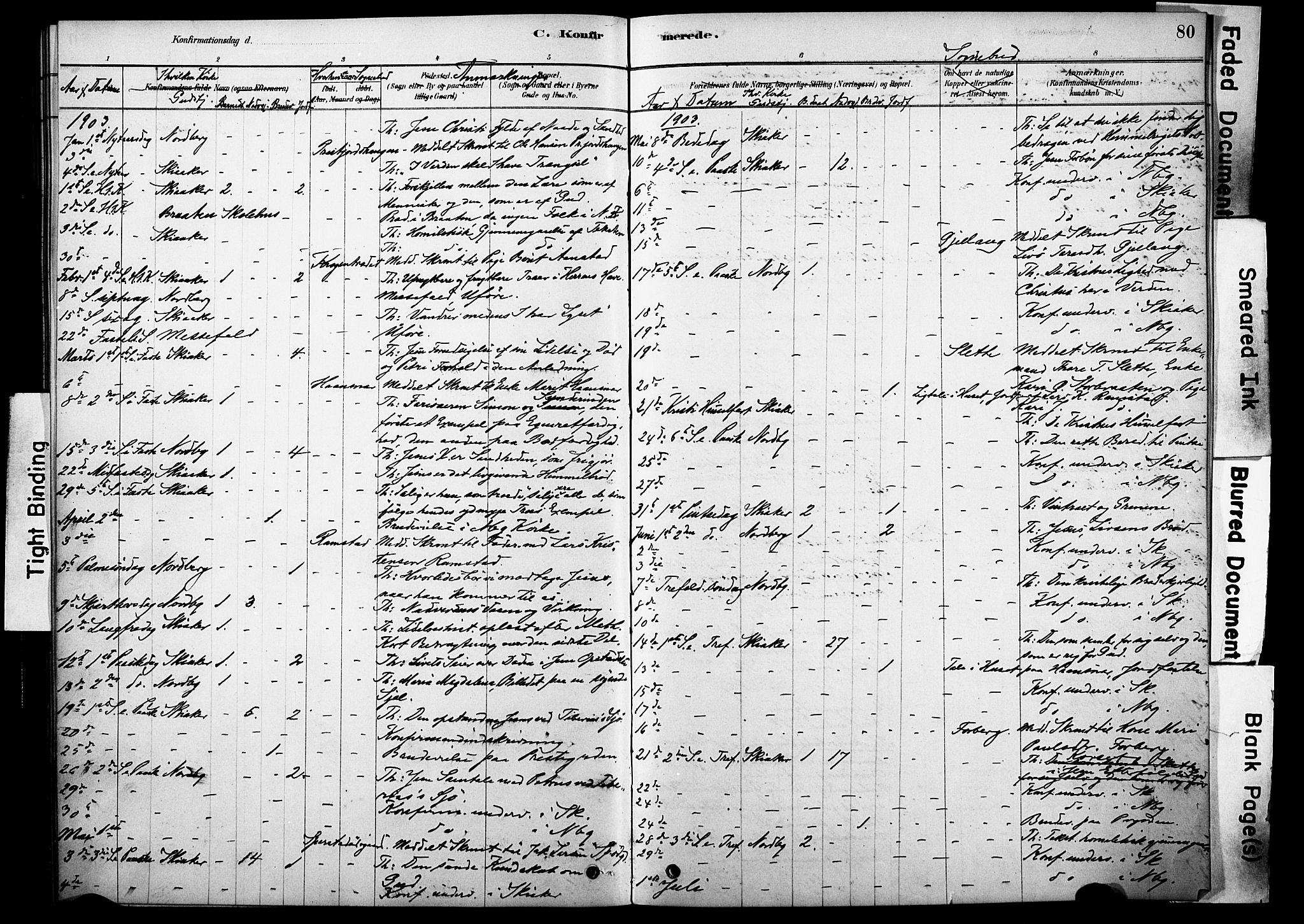 SAH, Skjåk prestekontor, Ministerialbok nr. 2, 1878-1907, s. 80
