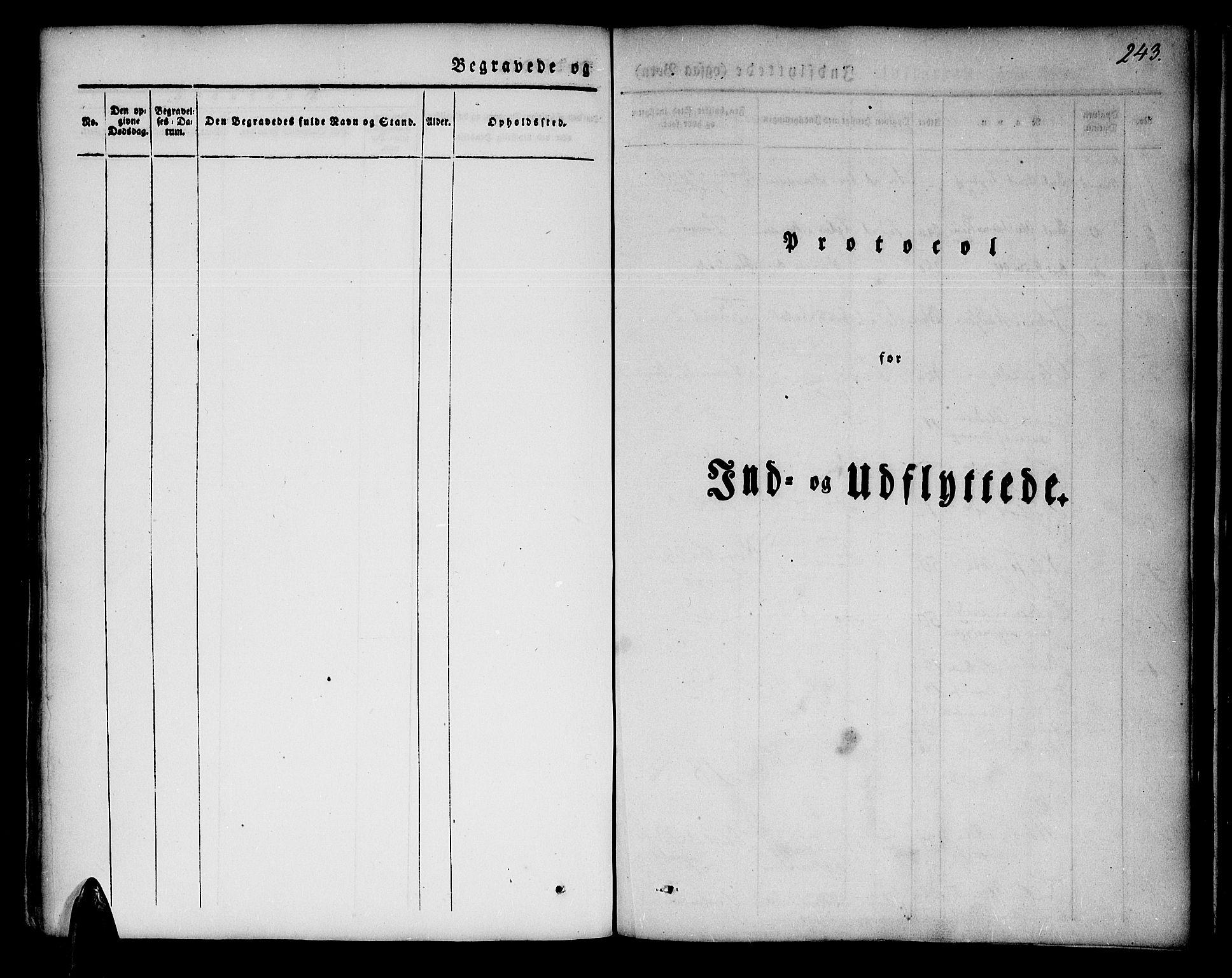 SATØ, Lenvik sokneprestembete, H/Ha: Ministerialbok nr. 4, 1832-1844, s. 243