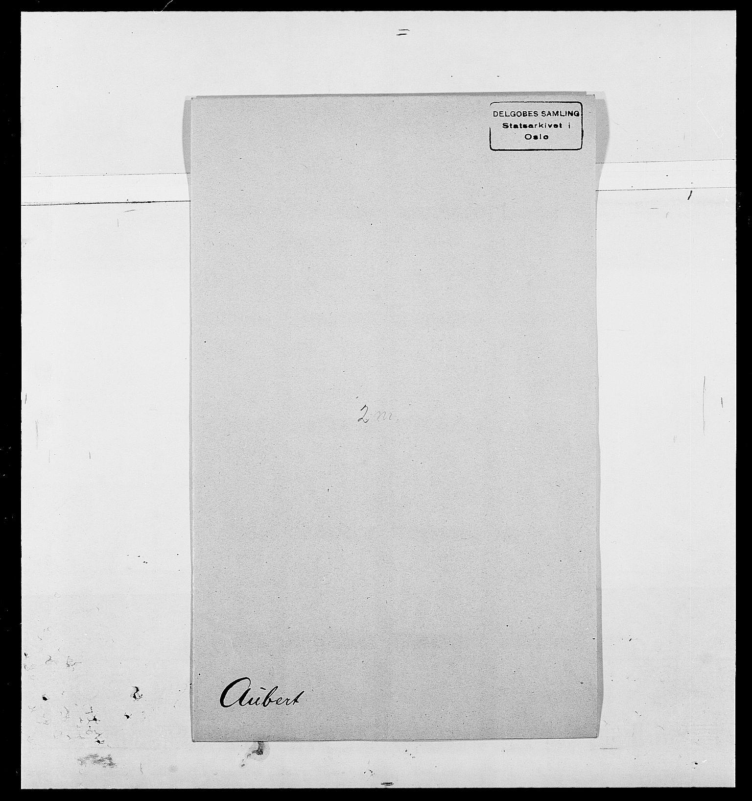 SAO, Delgobe, Charles Antoine - samling, D/Da/L0002: Anker, Ancher - Bauner, s. 496