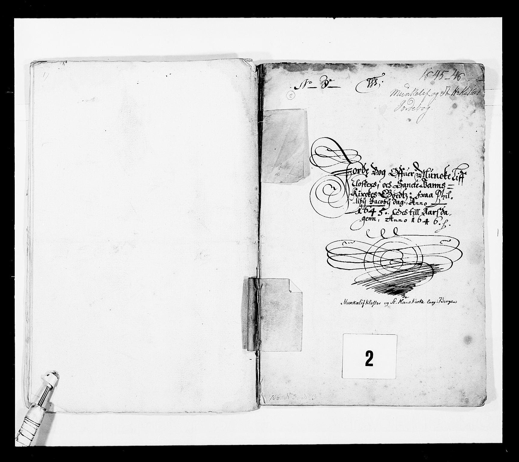 RA, Stattholderembetet 1572-1771, Ek/L0025: Jordebøker 1633-1658:, 1645-1646, s. 17