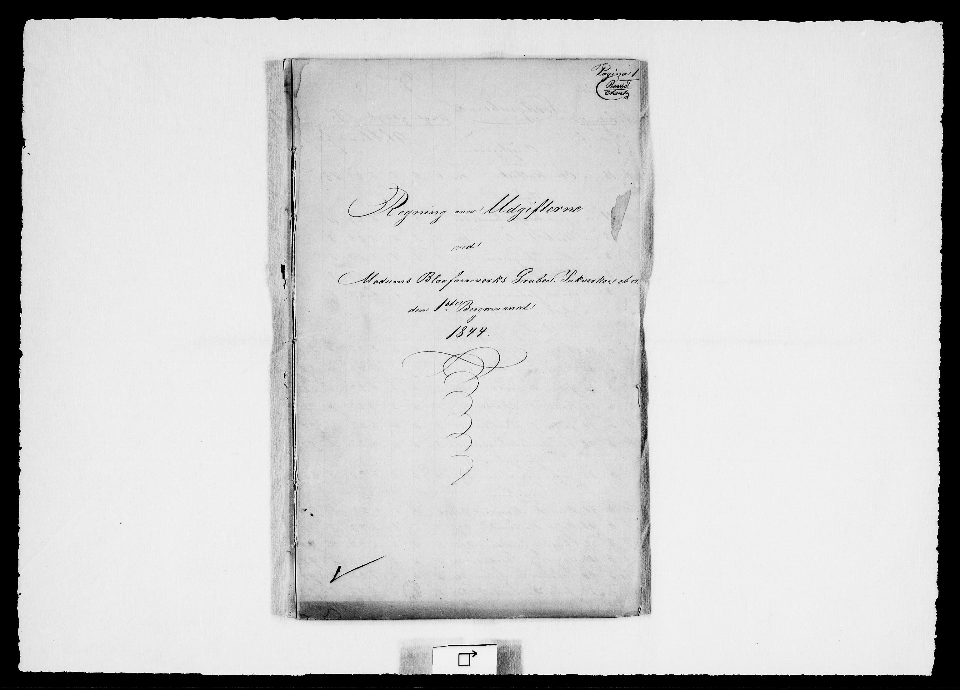 RA, Modums Blaafarveværk, G/Gd/Gdd/L0270, 1844, s. 2