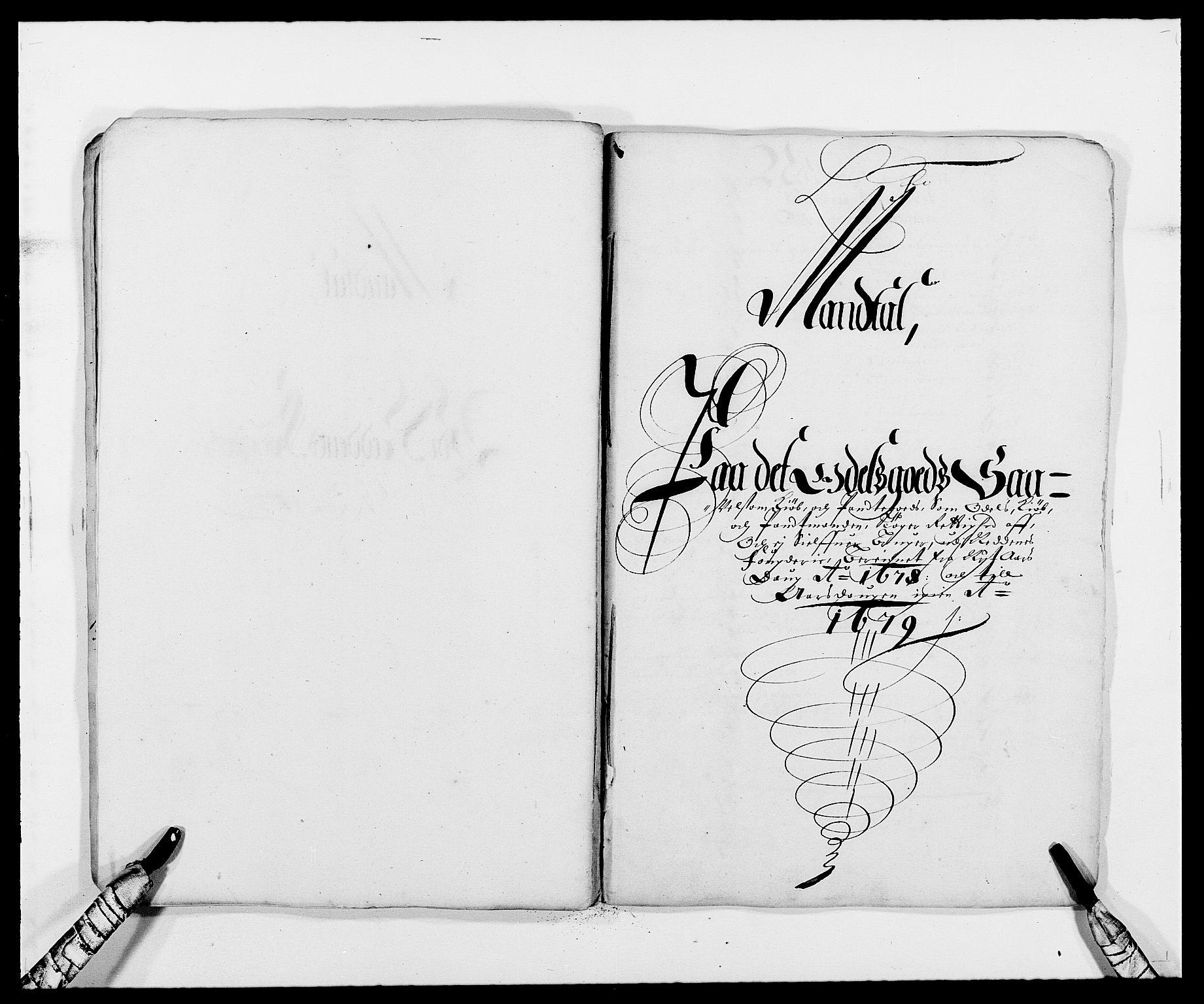 RA, Rentekammeret inntil 1814, Reviderte regnskaper, Fogderegnskap, R39/L2302: Fogderegnskap Nedenes, 1677-1678, s. 288