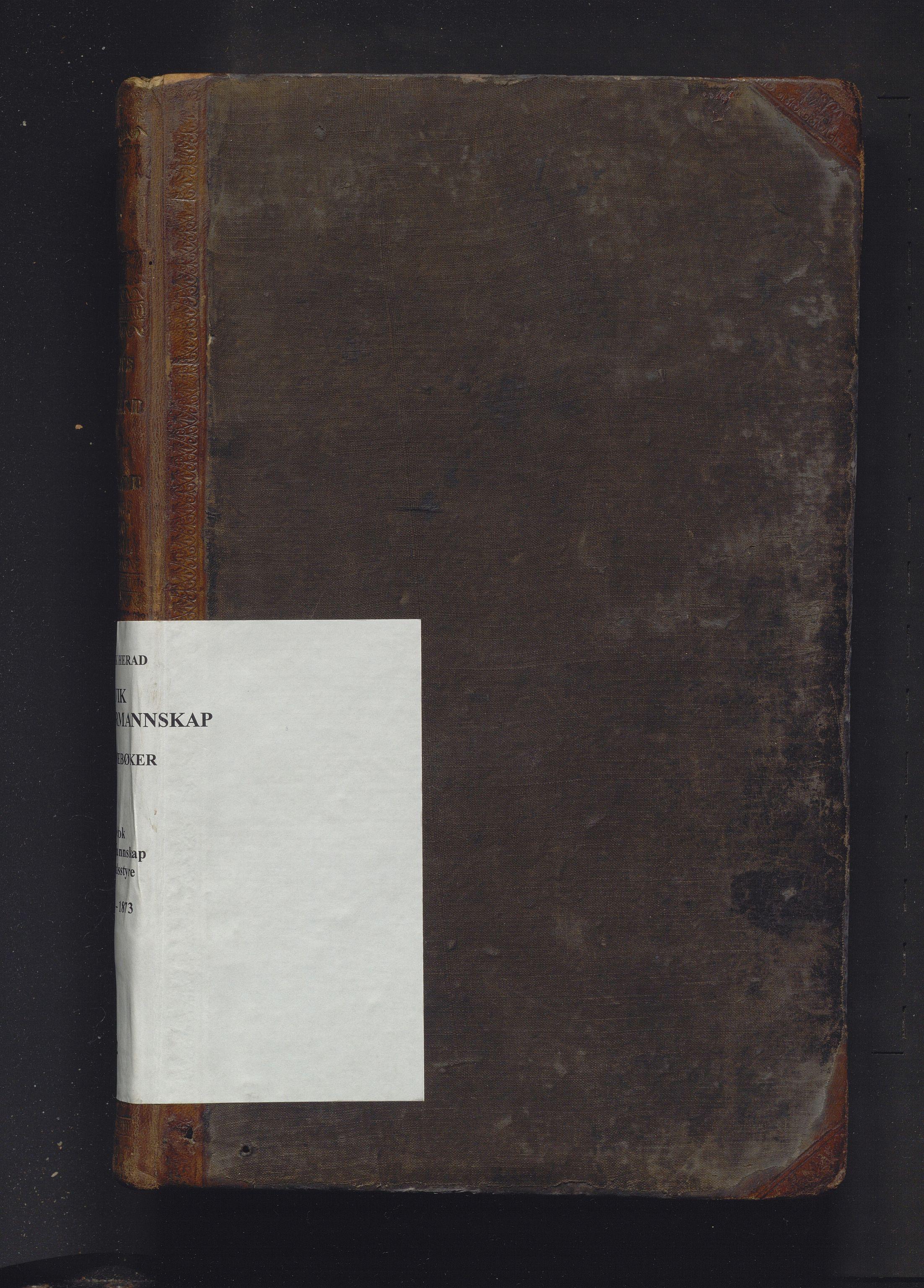 IKAH, Ulvik herad. Formannskapet, A/Aa/Aaa/L0002: Møtebok for formannskap, heradsstyre og soknestyra i Eidfjord, Graven og Ulvik soknekommunar, 1860-1873