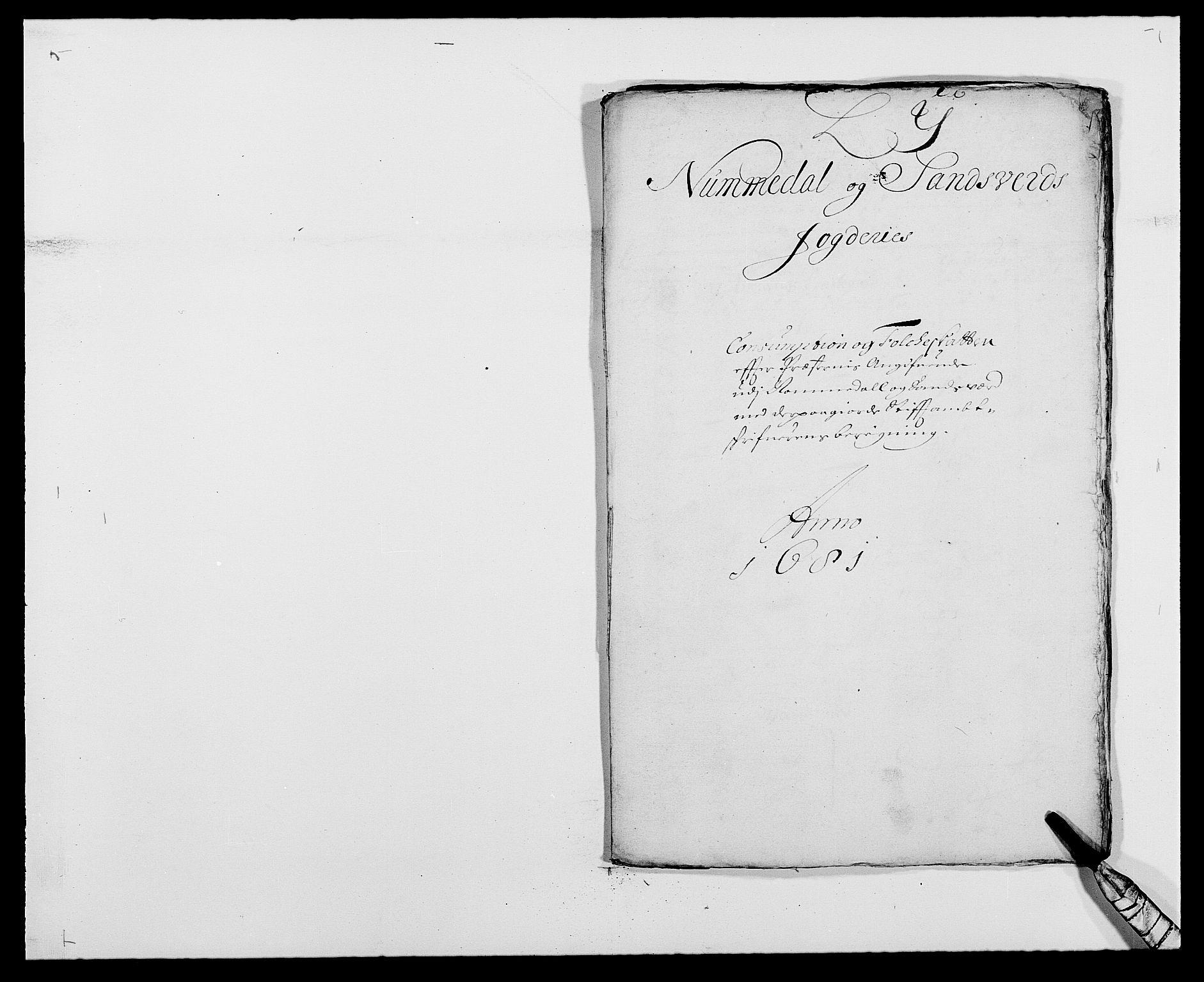 RA, Rentekammeret inntil 1814, Reviderte regnskaper, Fogderegnskap, R24/L1569: Fogderegnskap Numedal og Sandsvær, 1679-1686, s. 378