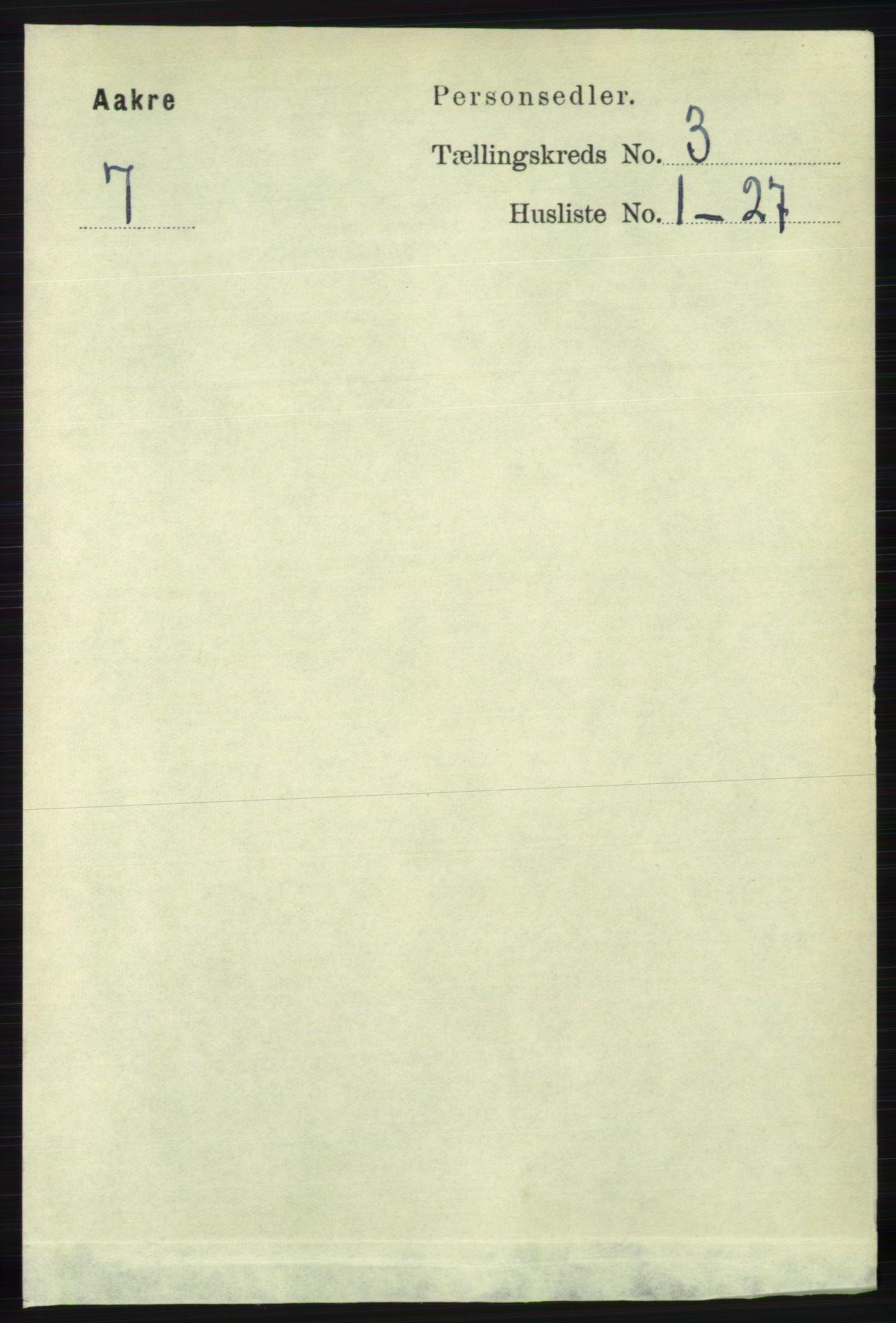 RA, Folketelling 1891 for 1150 Skudenes herred, 1891, s. 3997