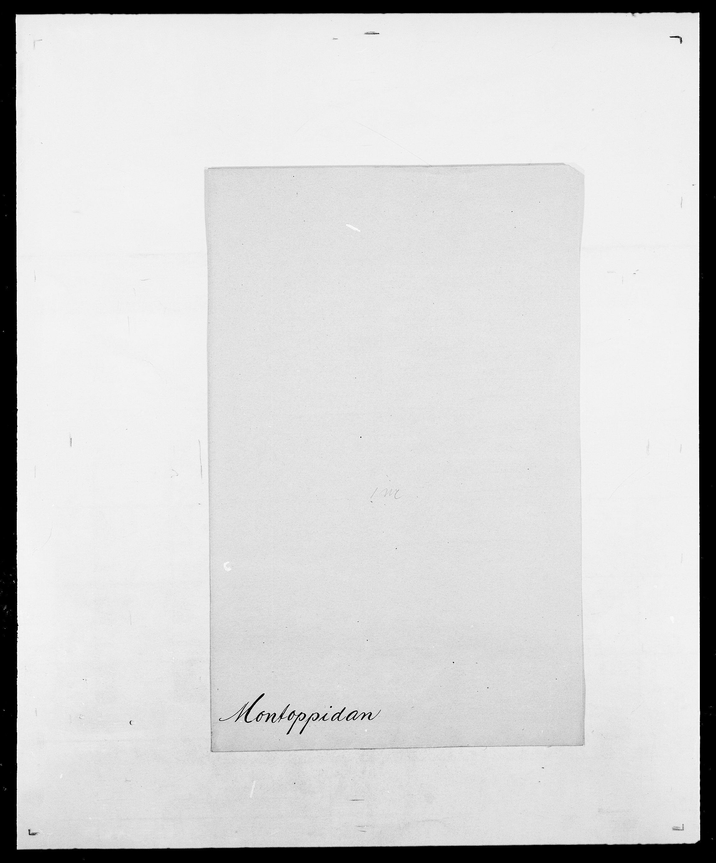 SAO, Delgobe, Charles Antoine - samling, D/Da/L0026: Mechelby - Montoppidan, s. 843