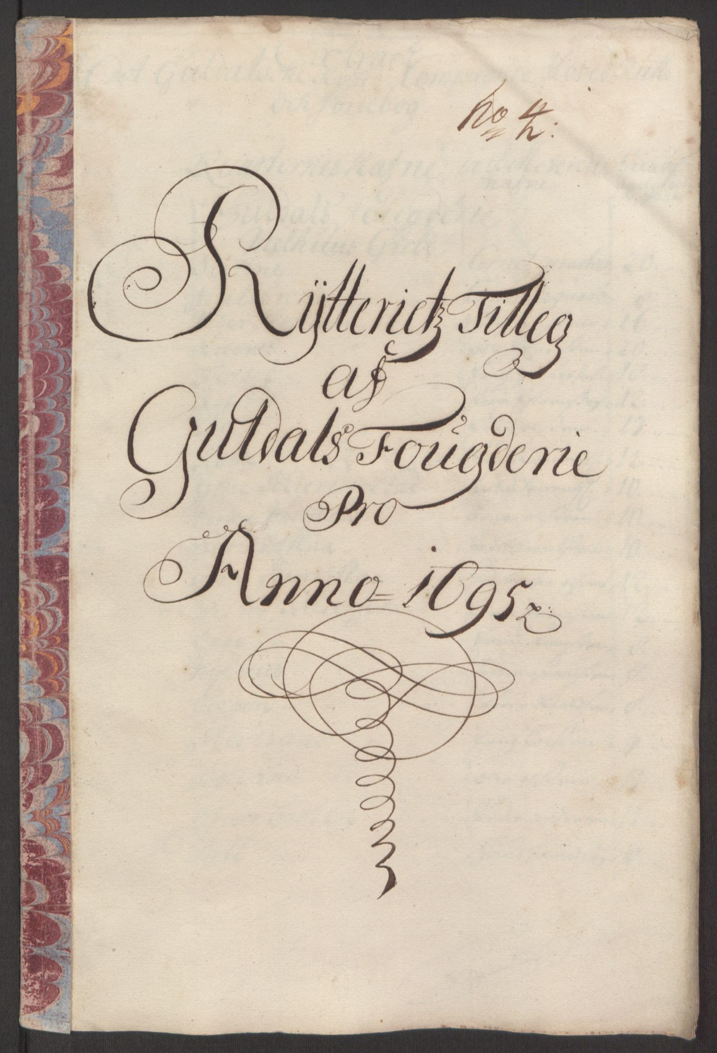 RA, Rentekammeret inntil 1814, Reviderte regnskaper, Fogderegnskap, R60/L3945: Fogderegnskap Orkdal og Gauldal, 1695, s. 410