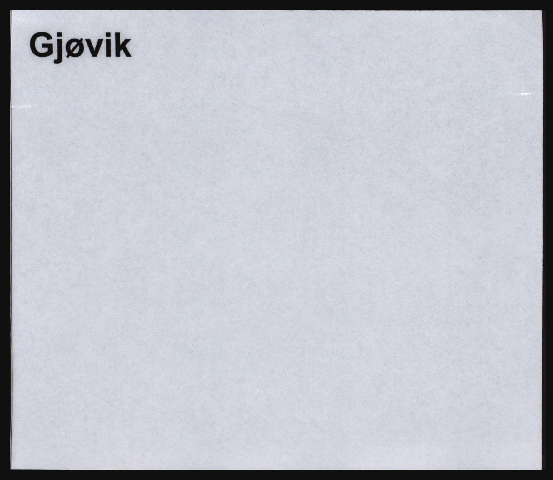 SAH, Norges Brannkasse, Gjøvik, s. 1