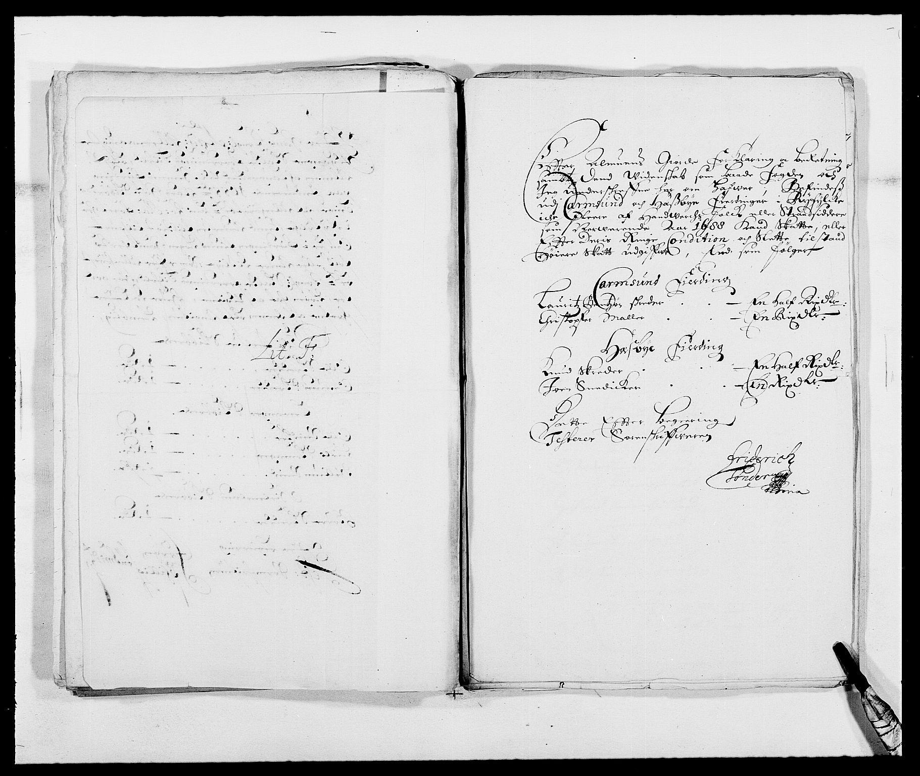 RA, Rentekammeret inntil 1814, Reviderte regnskaper, Fogderegnskap, R47/L2855: Fogderegnskap Ryfylke, 1685-1688, s. 386