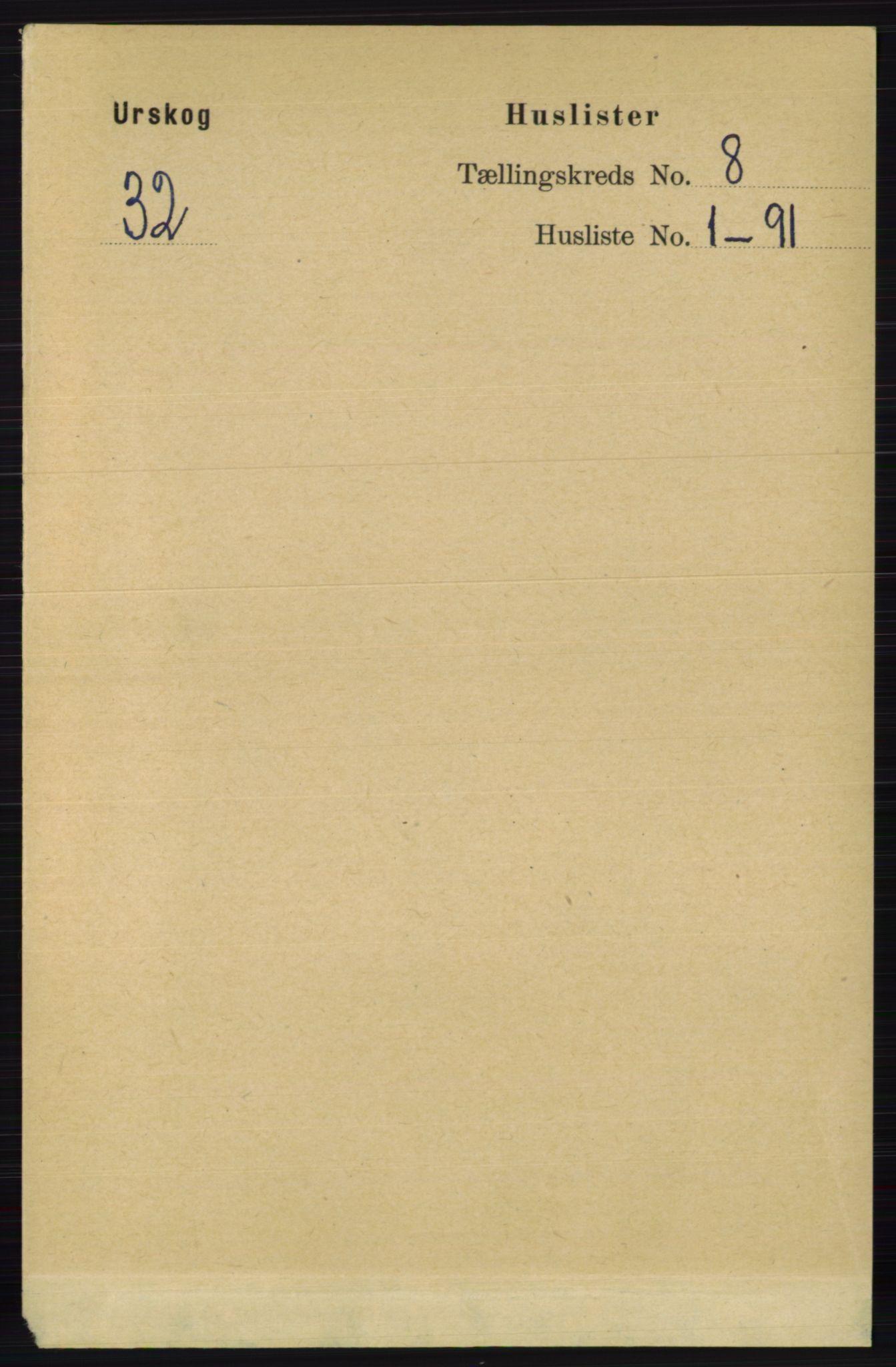 RA, Folketelling 1891 for 0224 Aurskog herred, 1891, s. 3790