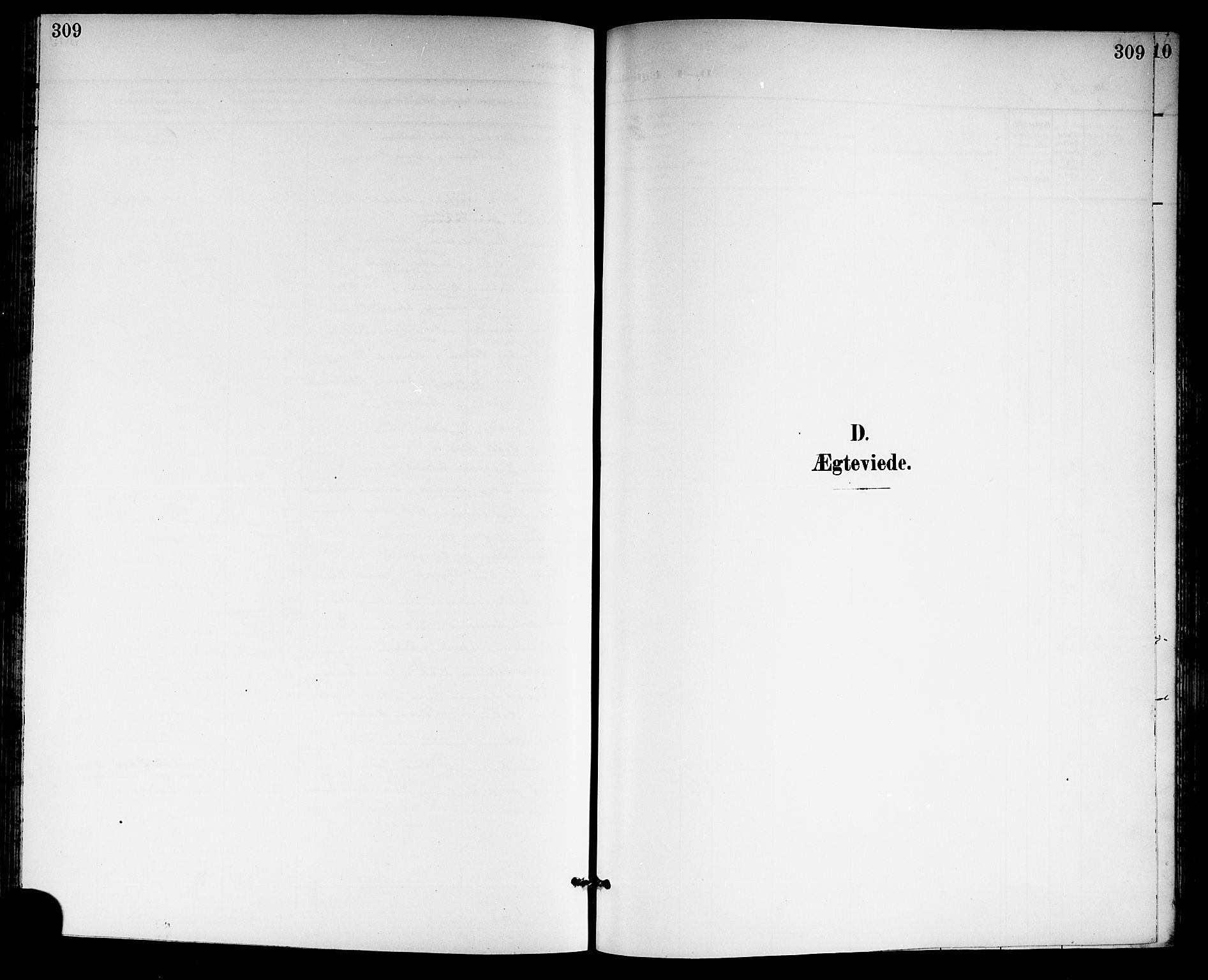SAKO, Gjerpen kirkebøker, G/Ga/L0003: Klokkerbok nr. I 3, 1901-1919, s. 309