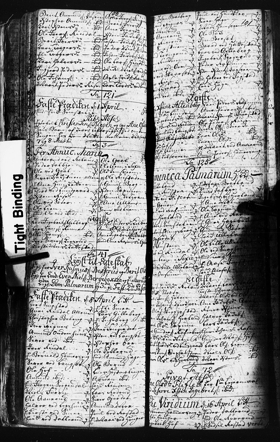 SAH, Fåberg prestekontor, Klokkerbok nr. 3, 1768-1796, s. 100-101