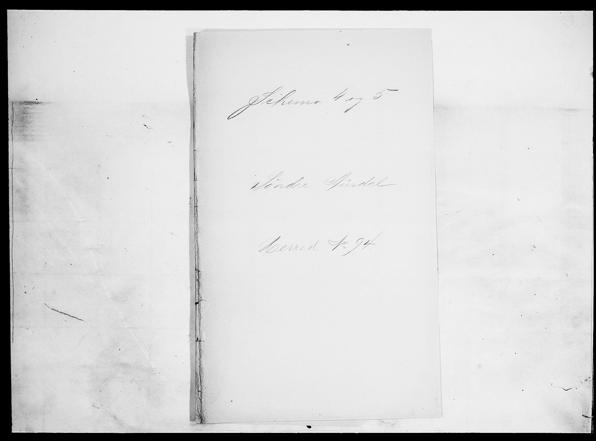 SAH, Folketelling 1900 for 0540 Sør-Aurdal herred, 1900, s. 1