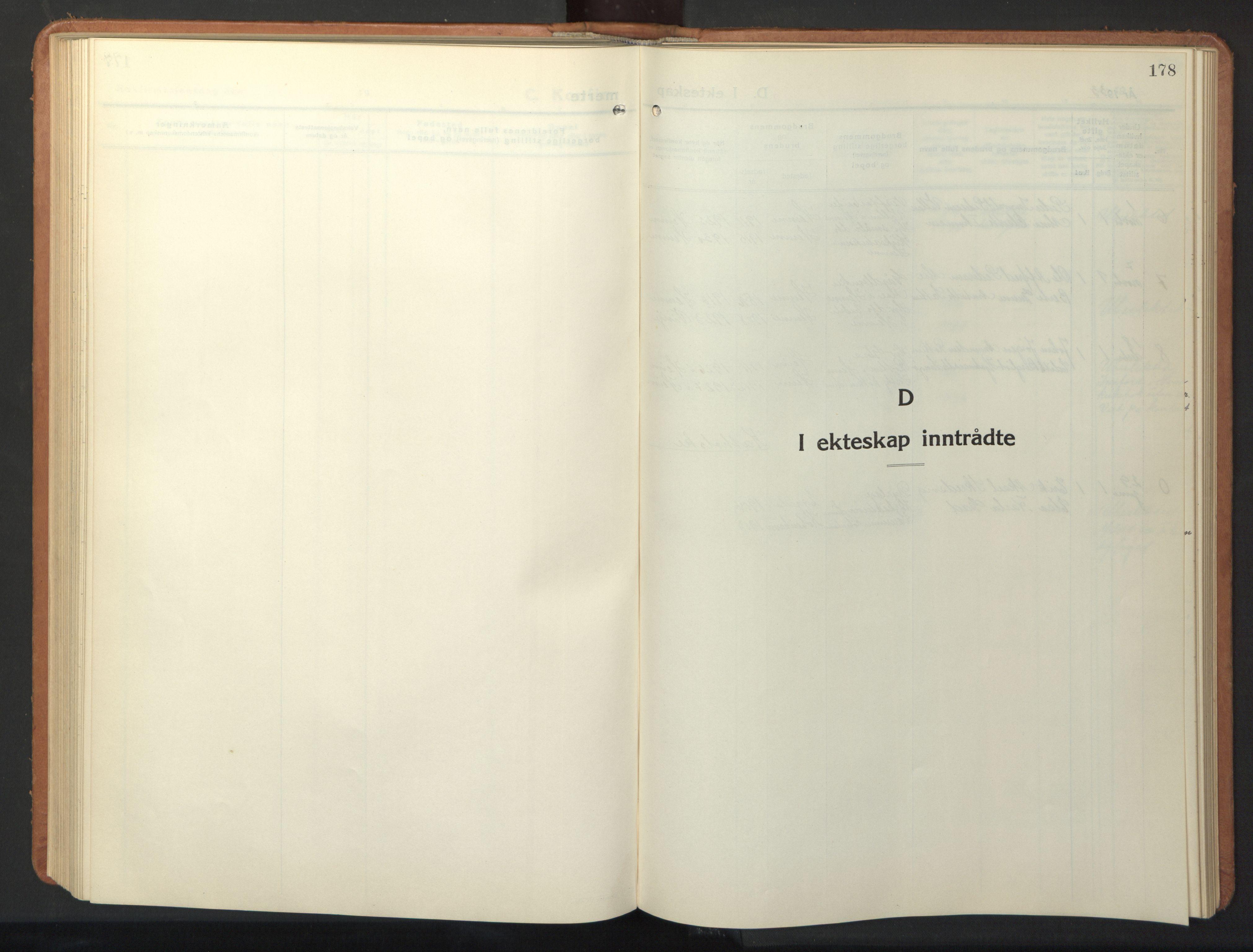 SAT, Ministerialprotokoller, klokkerbøker og fødselsregistre - Sør-Trøndelag, 630/L0508: Klokkerbok nr. 630C06, 1933-1950, s. 178