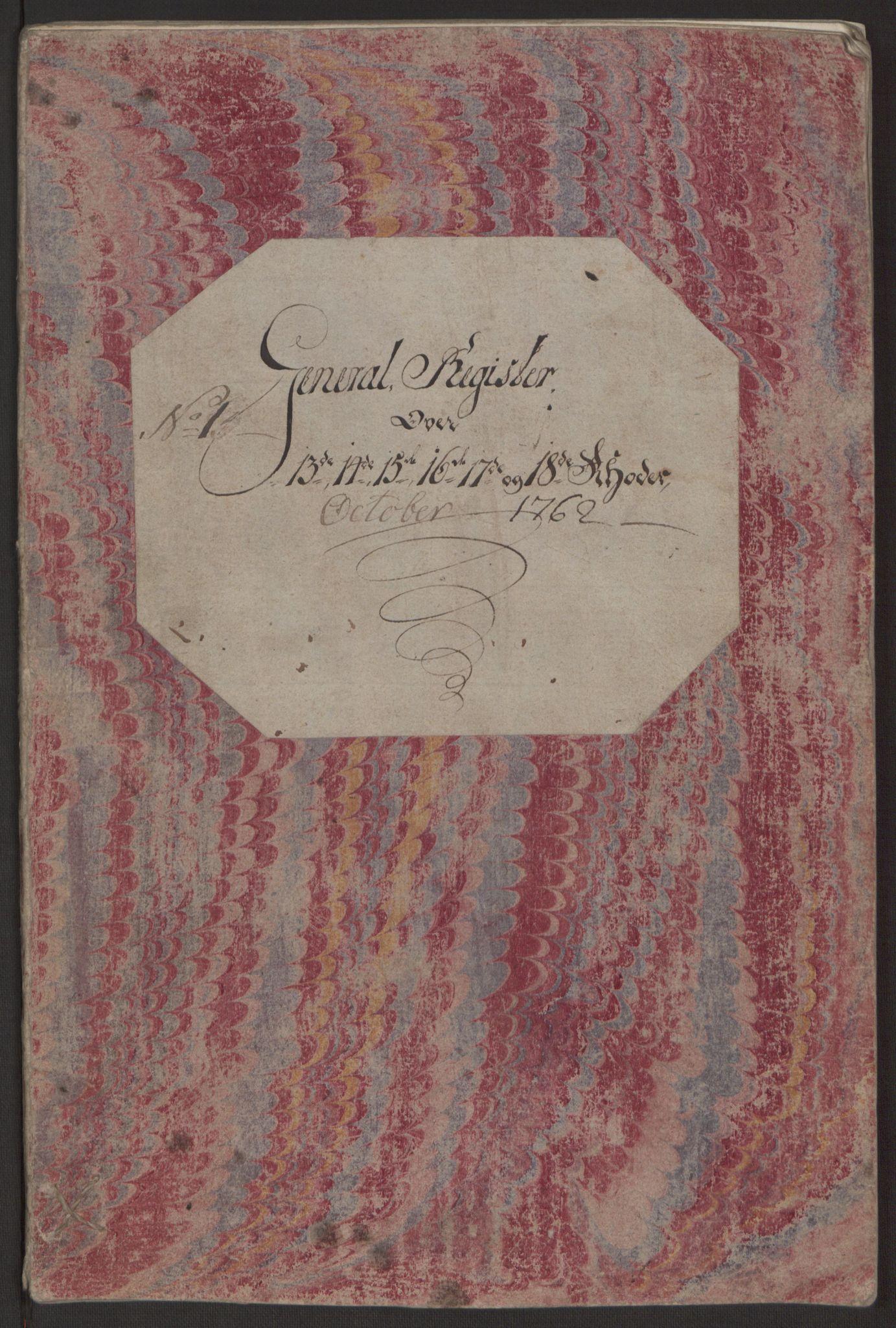 RA, Rentekammeret inntil 1814, Reviderte regnskaper, Byregnskaper, R/Rp/L0365: [P20] Kontribusjonsregnskap, 1762, s. 111