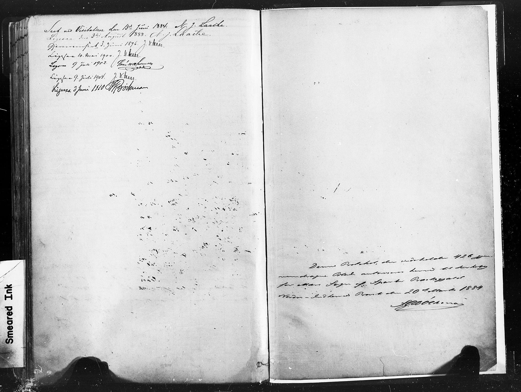 SAT, Ministerialprotokoller, klokkerbøker og fødselsregistre - Nord-Trøndelag, 735/L0351: Ministerialbok nr. 735A10, 1884-1908