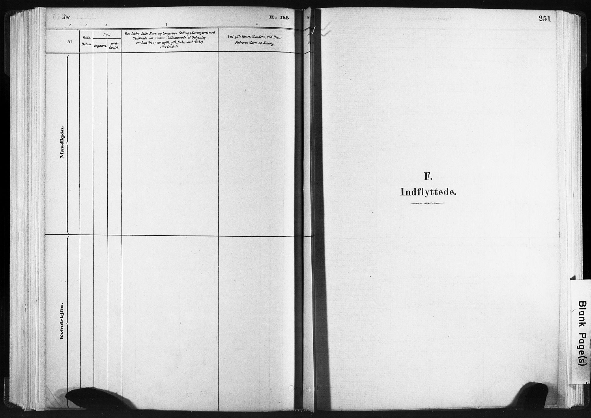 SAT, Ministerialprotokoller, klokkerbøker og fødselsregistre - Sør-Trøndelag, 665/L0773: Ministerialbok nr. 665A08, 1879-1905, s. 251