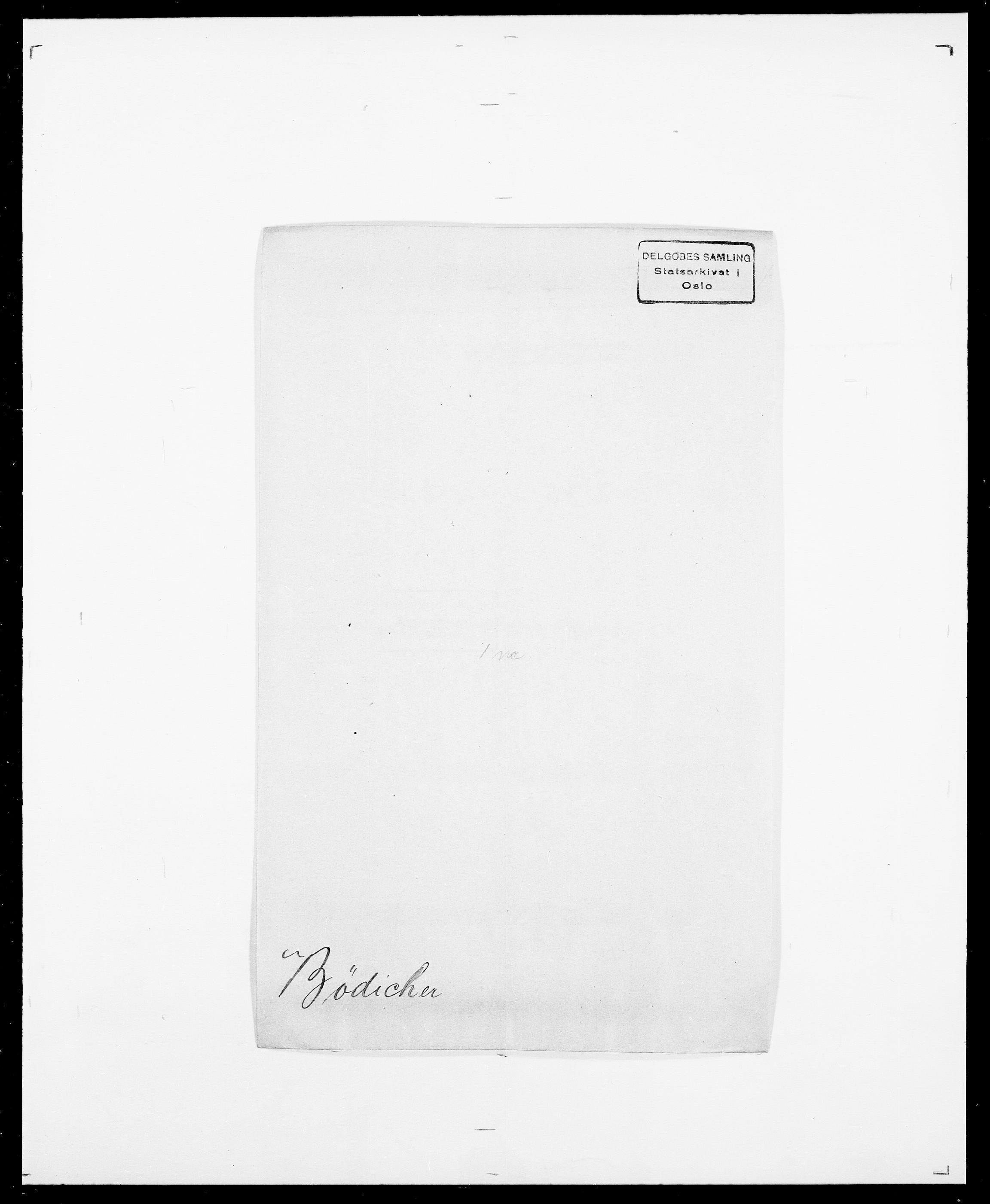 SAO, Delgobe, Charles Antoine - samling, D/Da/L0007: Buaas - Caphengst, s. 665