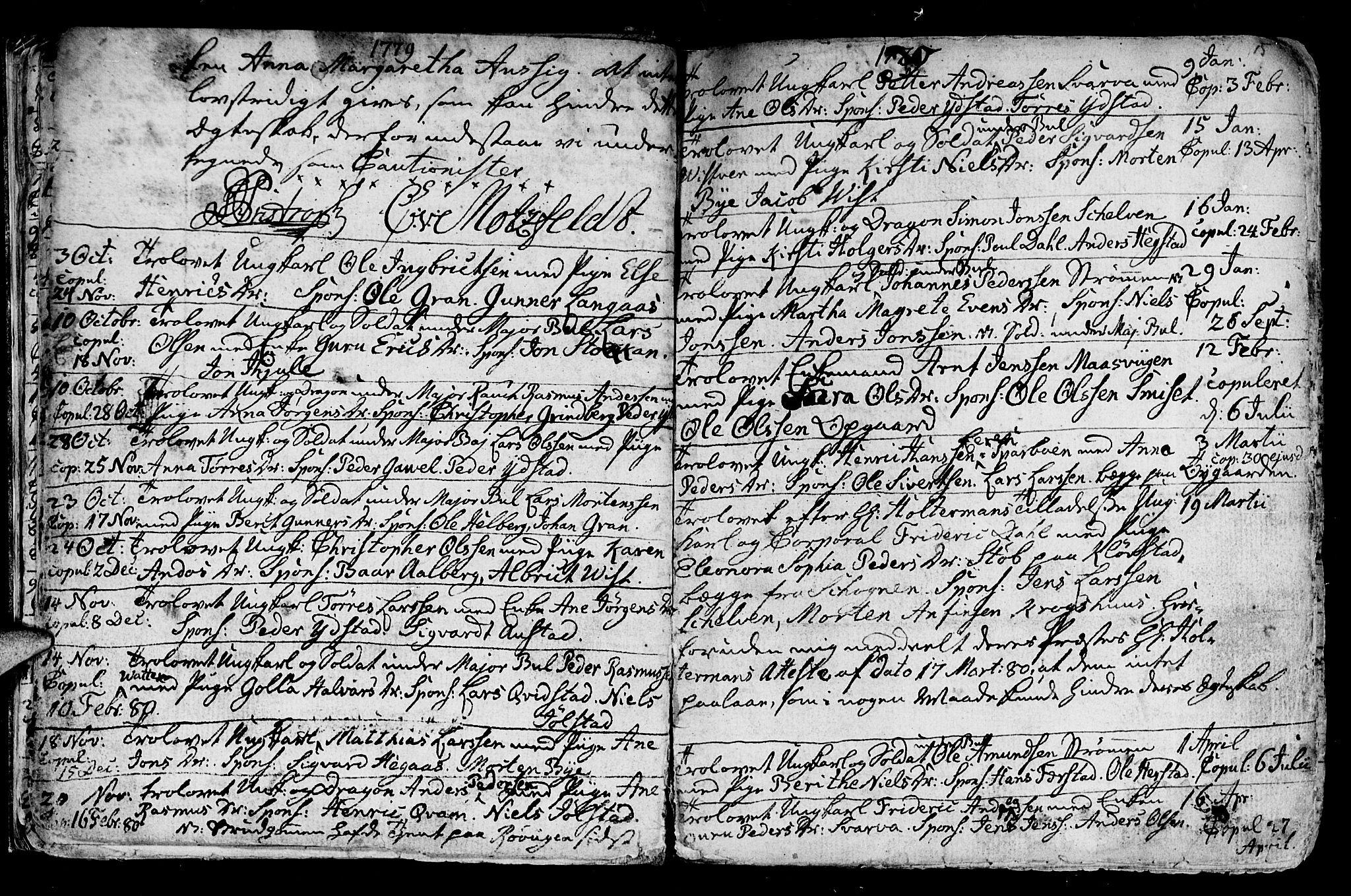 SAT, Ministerialprotokoller, klokkerbøker og fødselsregistre - Nord-Trøndelag, 730/L0273: Ministerialbok nr. 730A02, 1762-1802, s. 15
