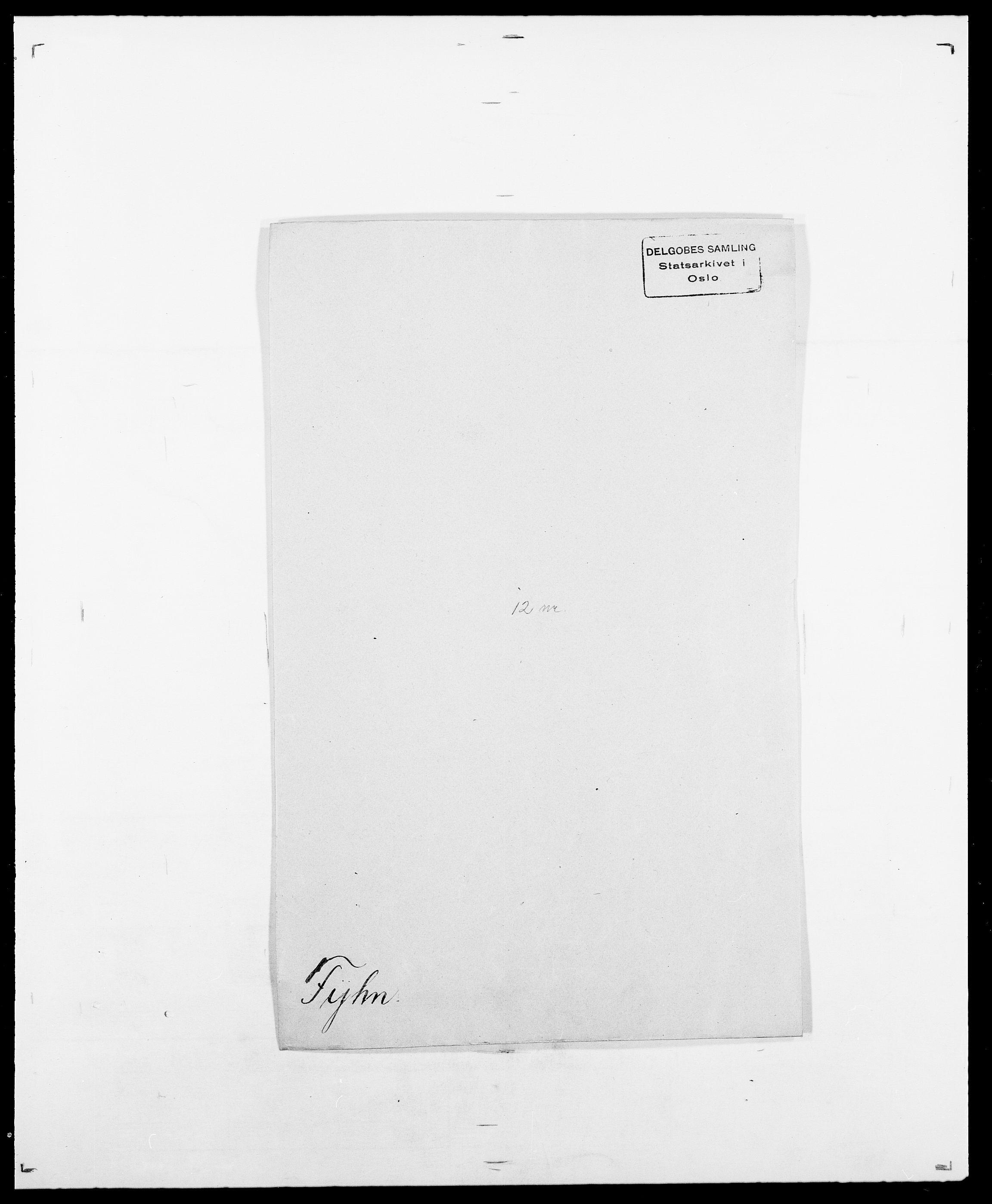 SAO, Delgobe, Charles Antoine - samling, D/Da/L0013: Forbos - Geving, s. 233