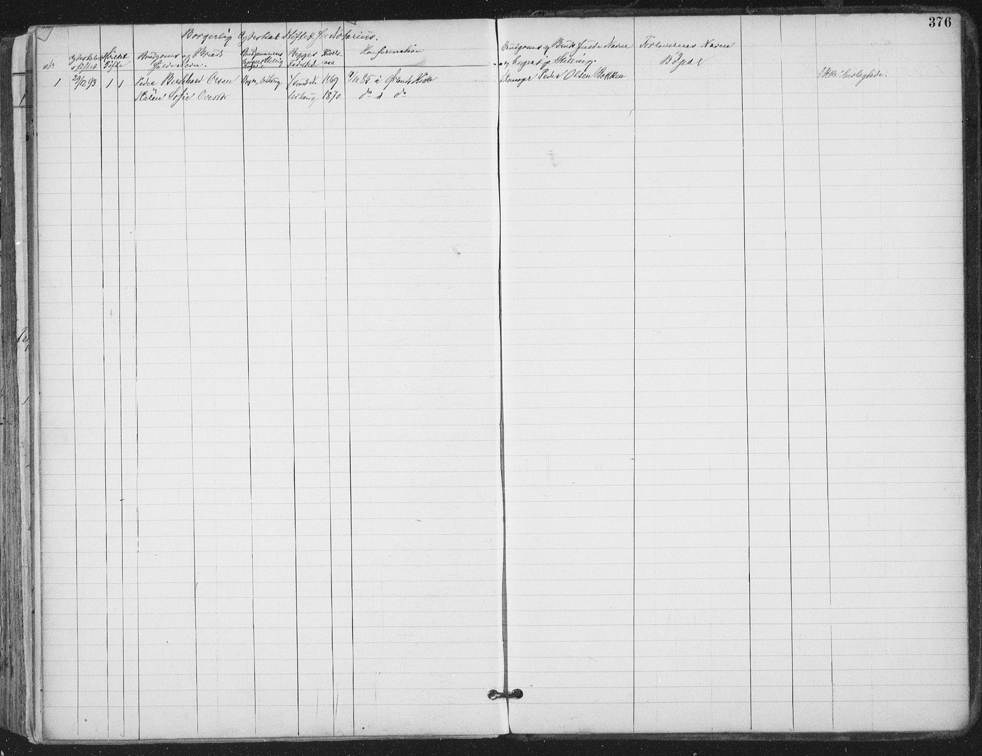 SAT, Ministerialprotokoller, klokkerbøker og fødselsregistre - Sør-Trøndelag, 659/L0743: Ministerialbok nr. 659A13, 1893-1910, s. 376