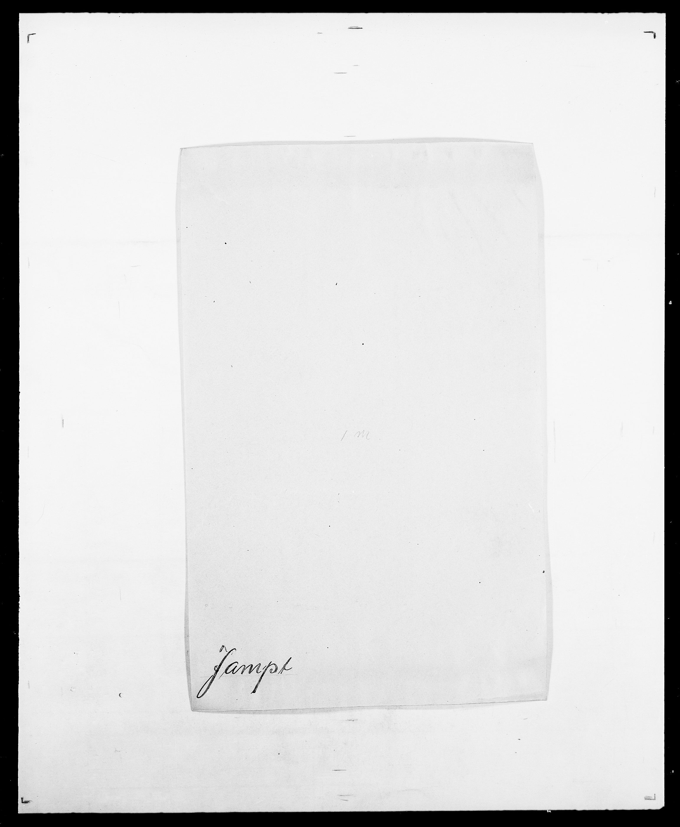 SAO, Delgobe, Charles Antoine - samling, D/Da/L0019: van der Hude - Joys, s. 534