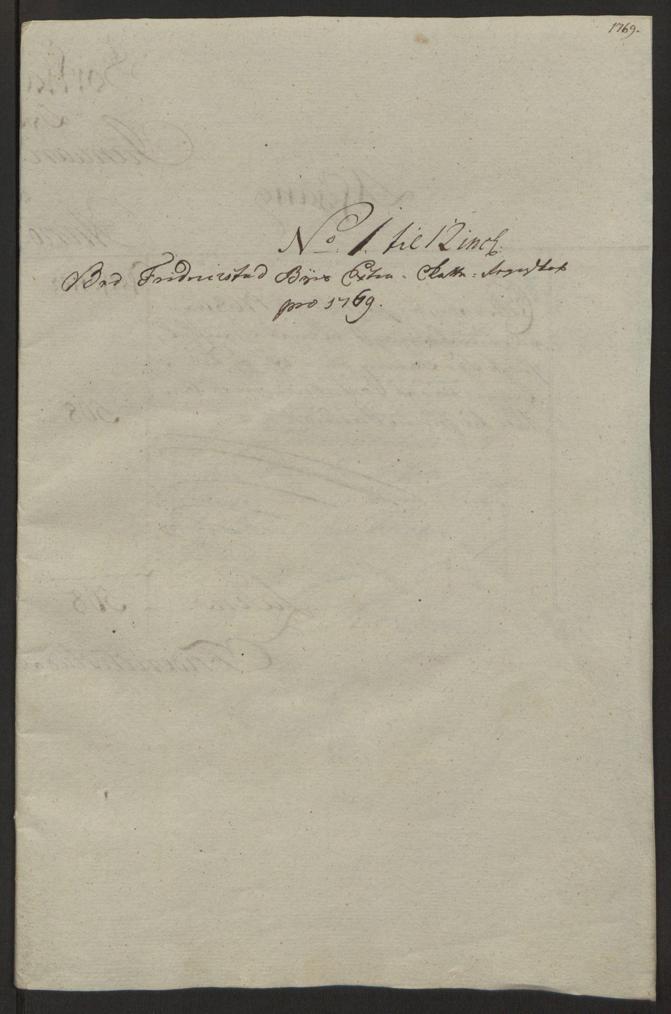 RA, Rentekammeret inntil 1814, Reviderte regnskaper, Byregnskaper, R/Rb/L0029: [B3] Kontribusjonsregnskap, 1762-1772, s. 310