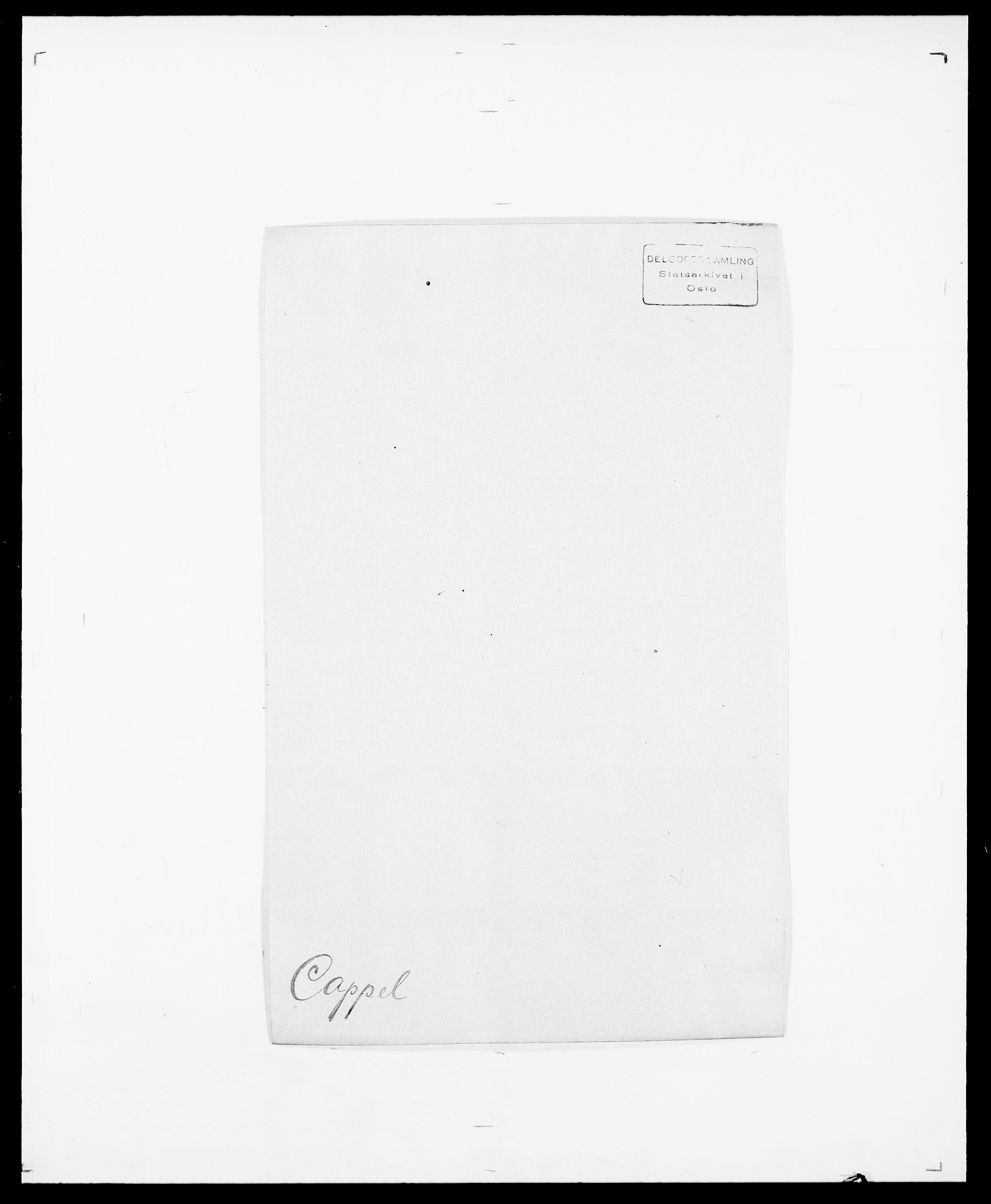 SAO, Delgobe, Charles Antoine - samling, D/Da/L0008: Capjon - Dagenbolt, s. 9
