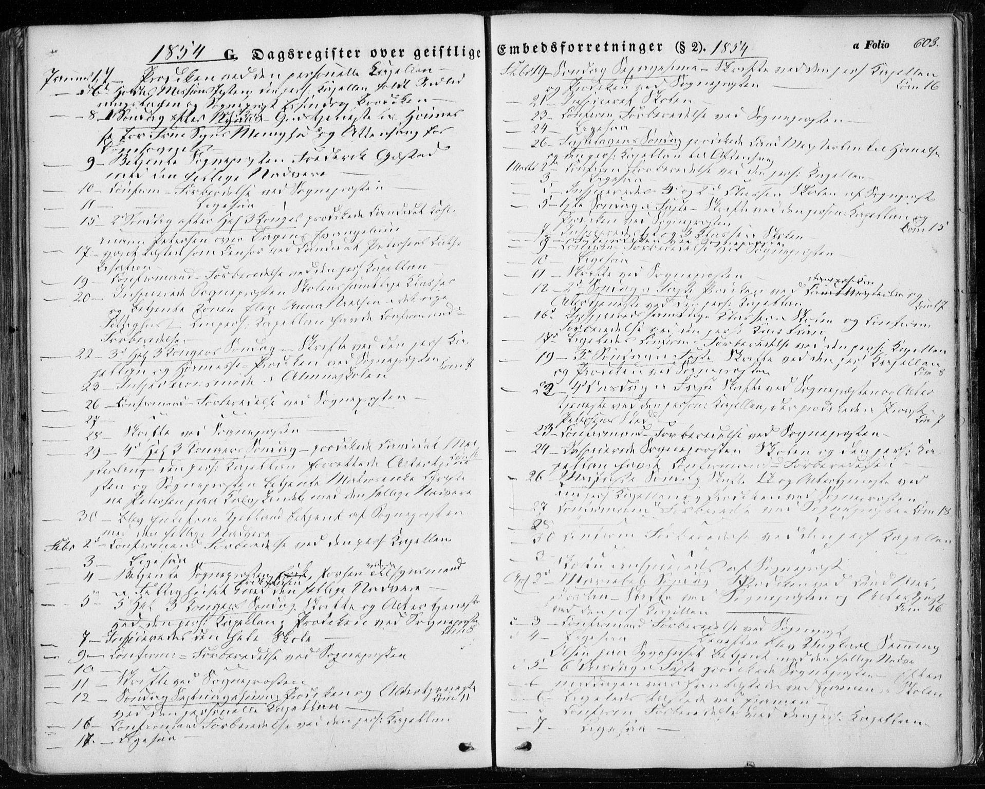 SAT, Ministerialprotokoller, klokkerbøker og fødselsregistre - Sør-Trøndelag, 601/L0051: Ministerialbok nr. 601A19, 1848-1857, s. 603