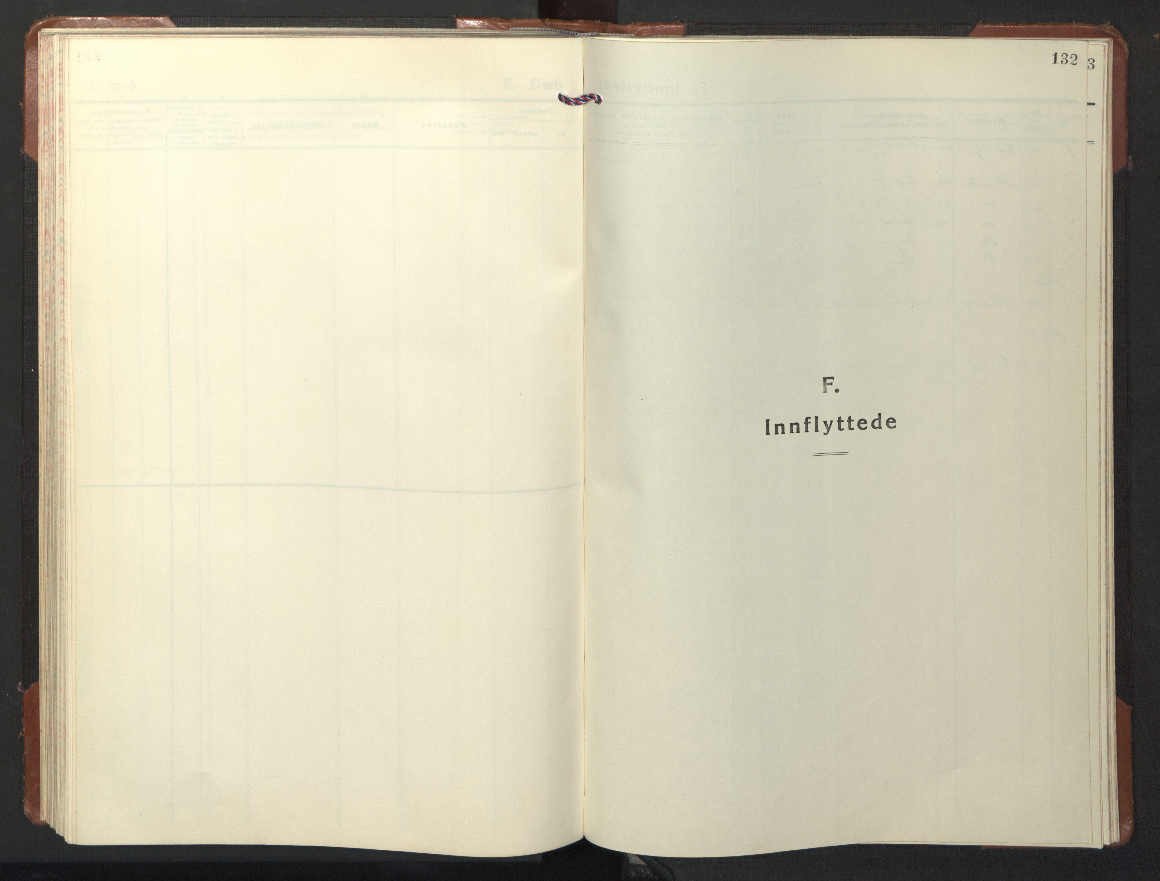 SAT, Ministerialprotokoller, klokkerbøker og fødselsregistre - Nord-Trøndelag, 722/L0227: Klokkerbok nr. 722C03, 1928-1958, s. 132
