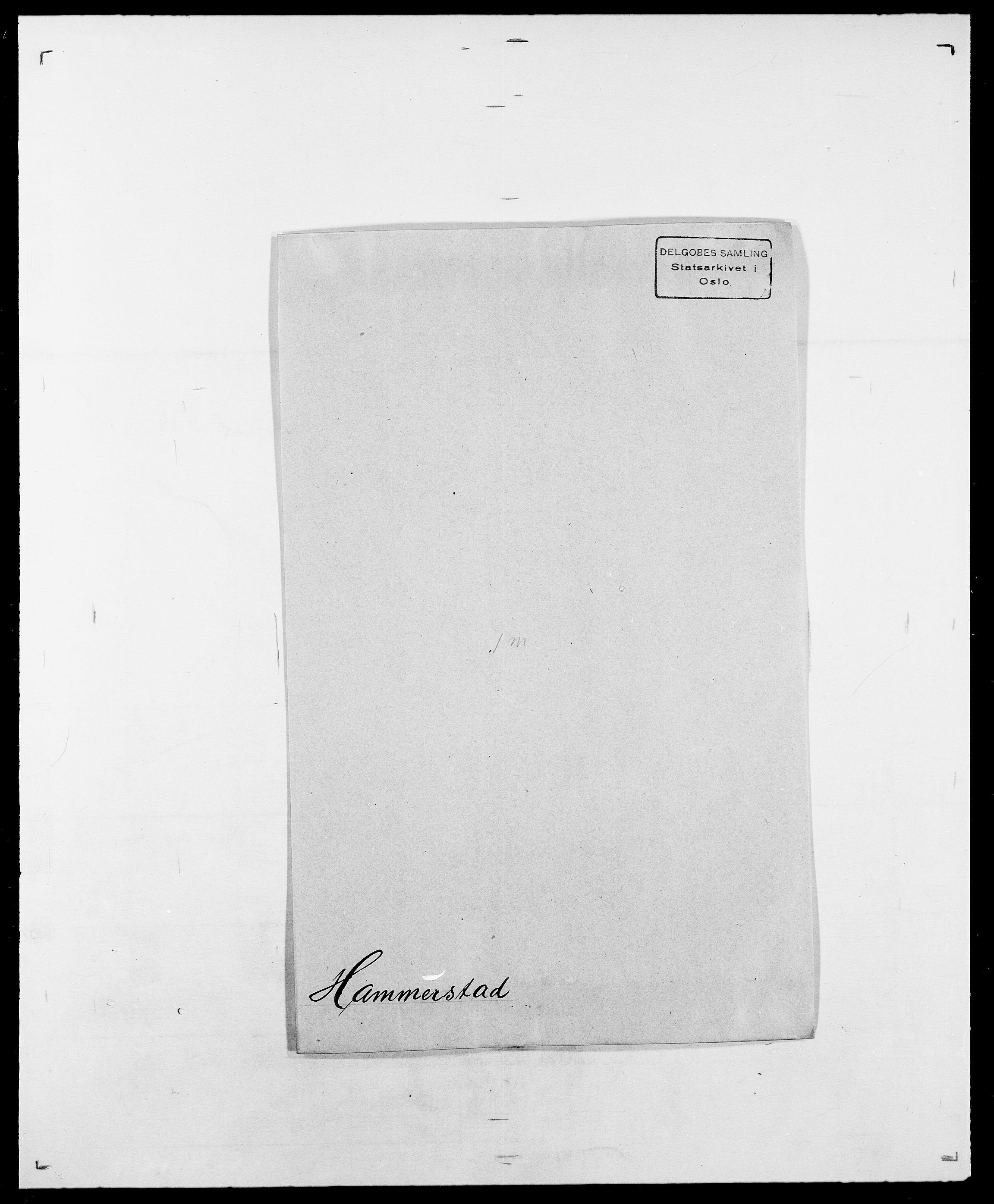 SAO, Delgobe, Charles Antoine - samling, D/Da/L0016: Hamborg - Hektoen, s. 77