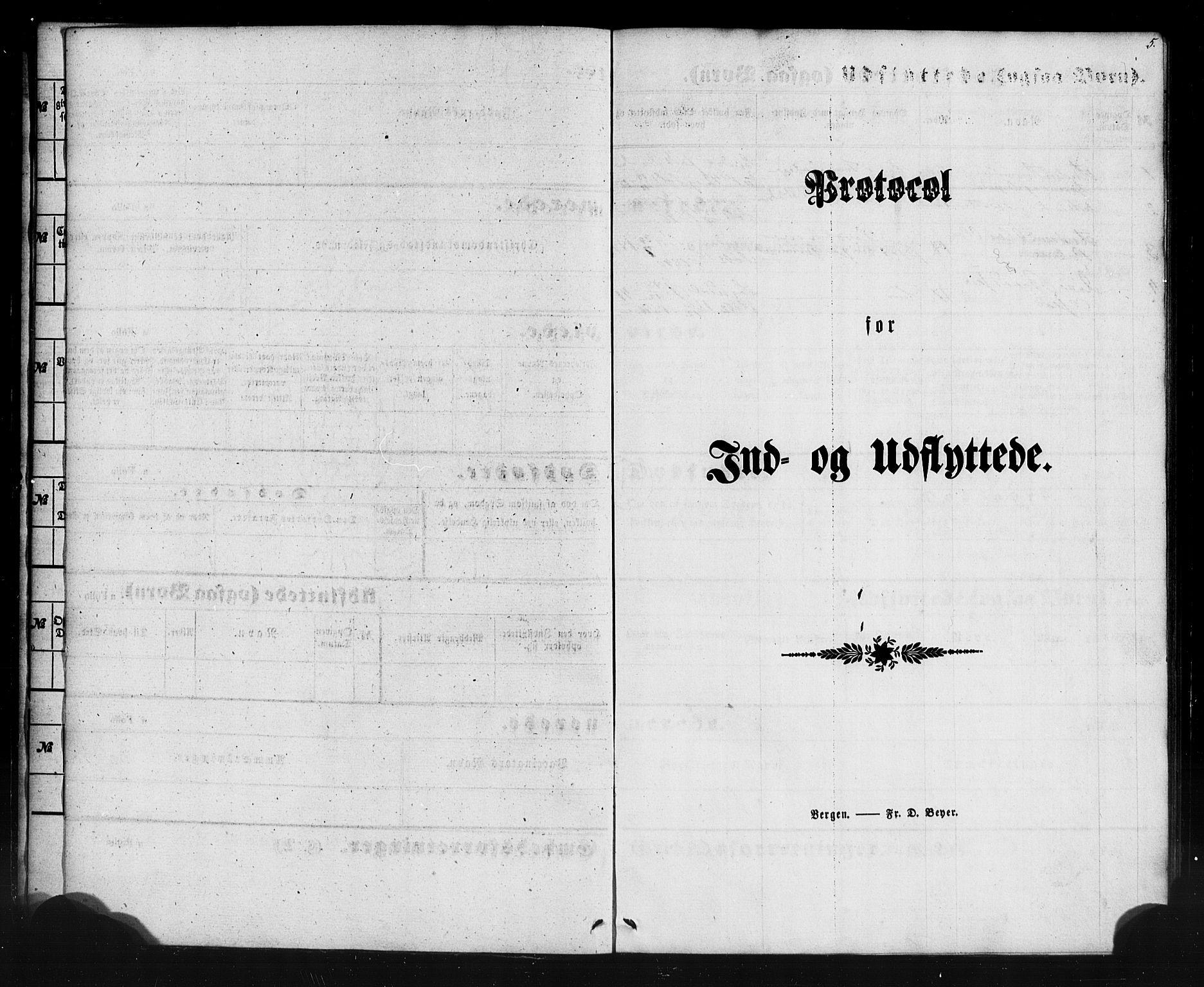 SAB, Aurland Sokneprestembete*, Ministerialbok nr. A 12, 1858-1879, s. 5