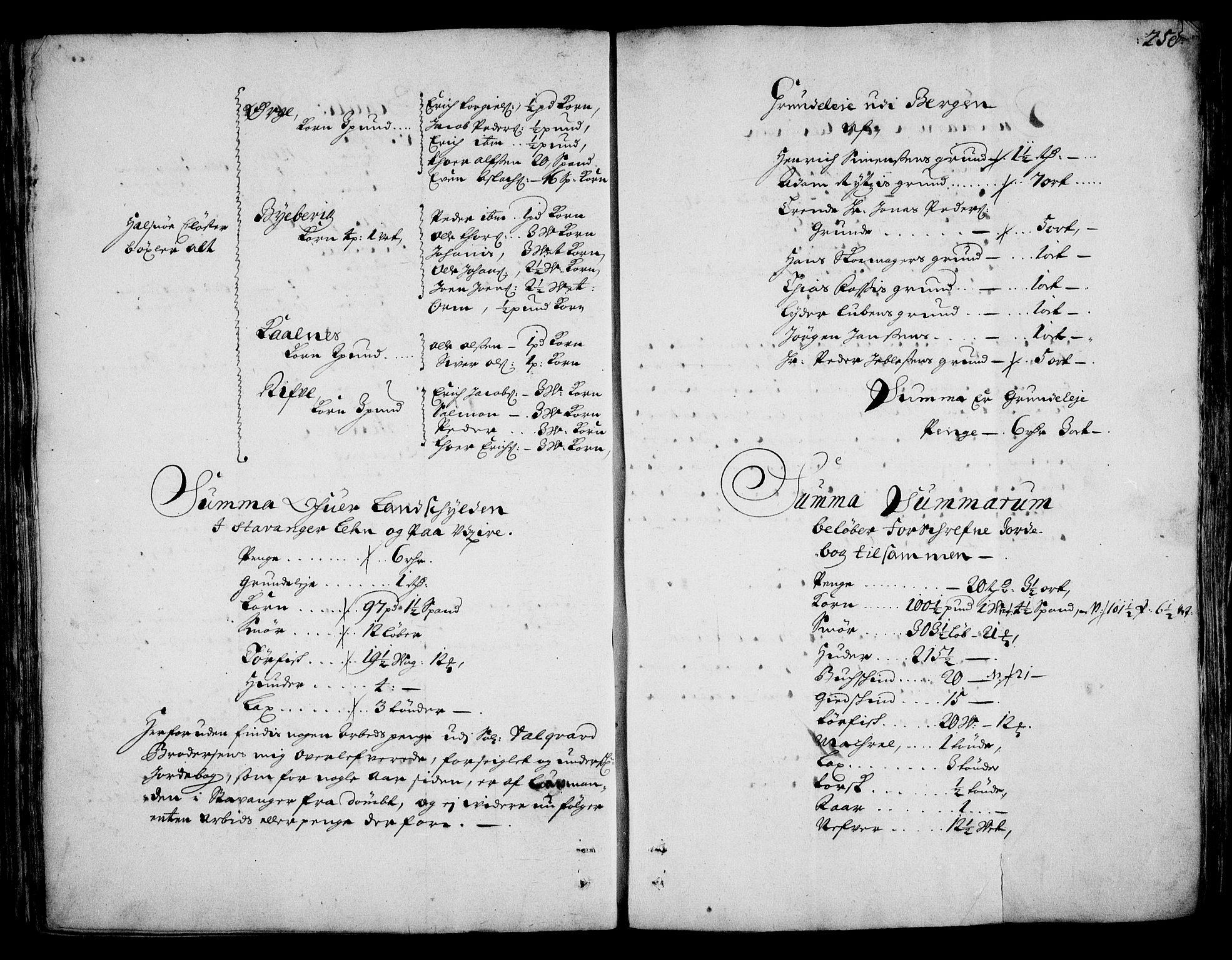 RA, Rentekammeret inntil 1814, Realistisk ordnet avdeling, On/L0002: [Jj 3]: Besiktigelsesforretninger over Halsnøy klosters gods, 1659-1703, s. 257b-258a