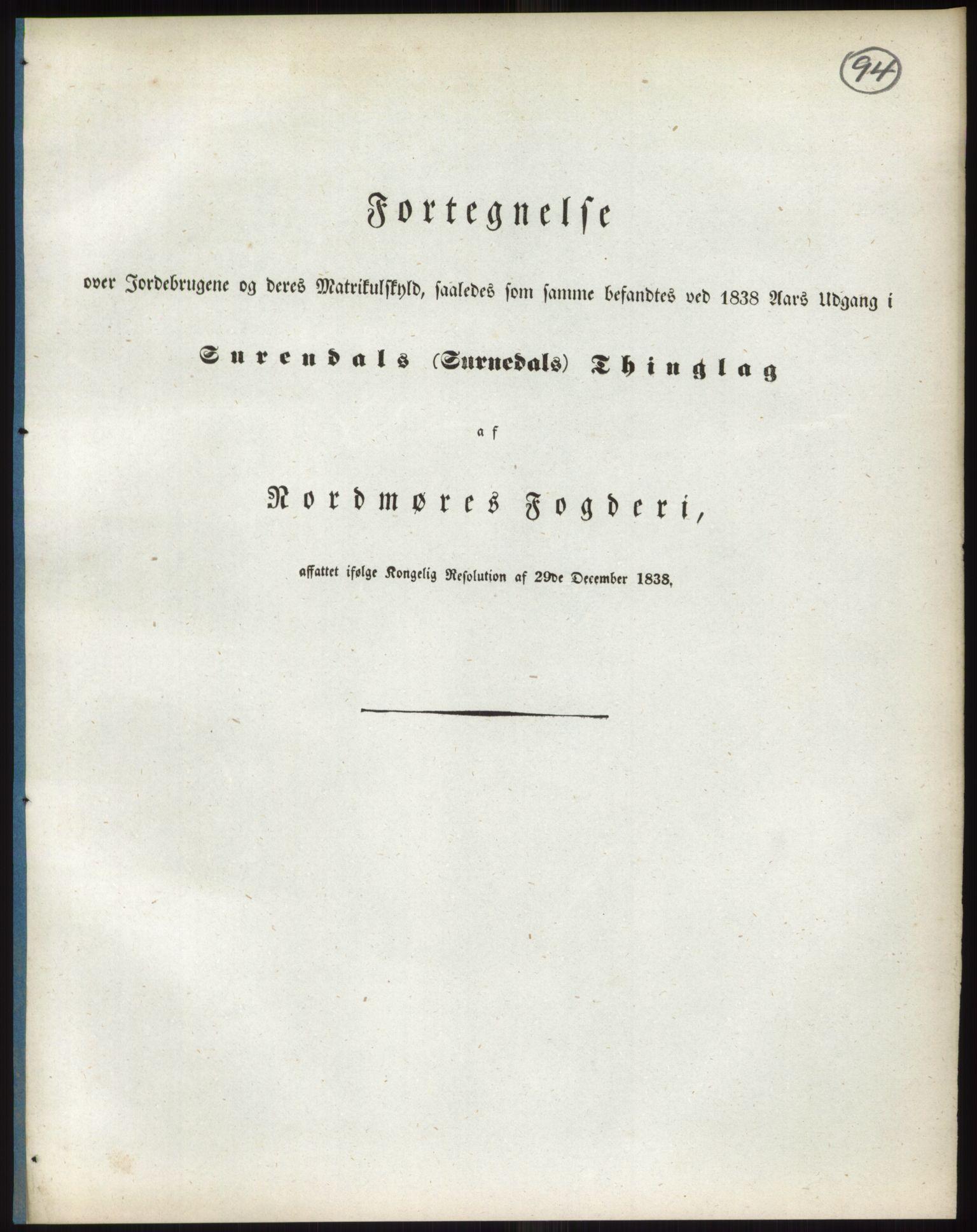 RA, 1838-matrikkelen (publikasjon)*, 1838, s. 94