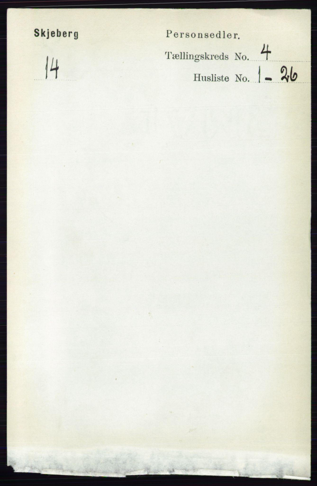 RA, Folketelling 1891 for 0115 Skjeberg herred, 1891, s. 1868