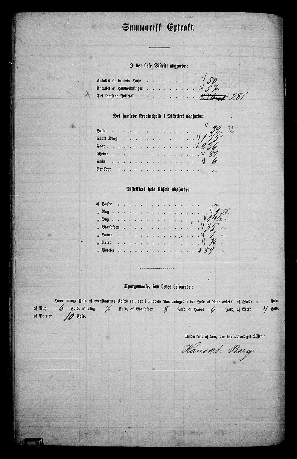 RA, Folketelling 1865 for 0427P Elverum prestegjeld, 1865, s. 214