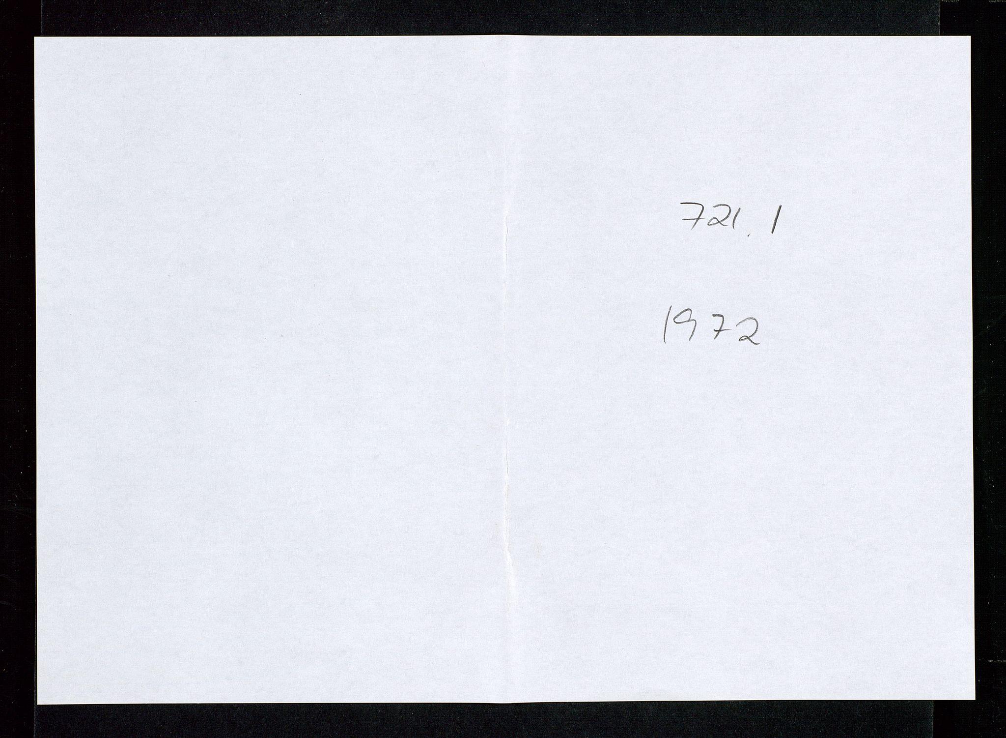 SAST, Industridepartementet, Oljekontoret, Da/L0008:  Arkivnøkkel 721- 722 Geofysikk, forskning, 1970-1972, s. 84