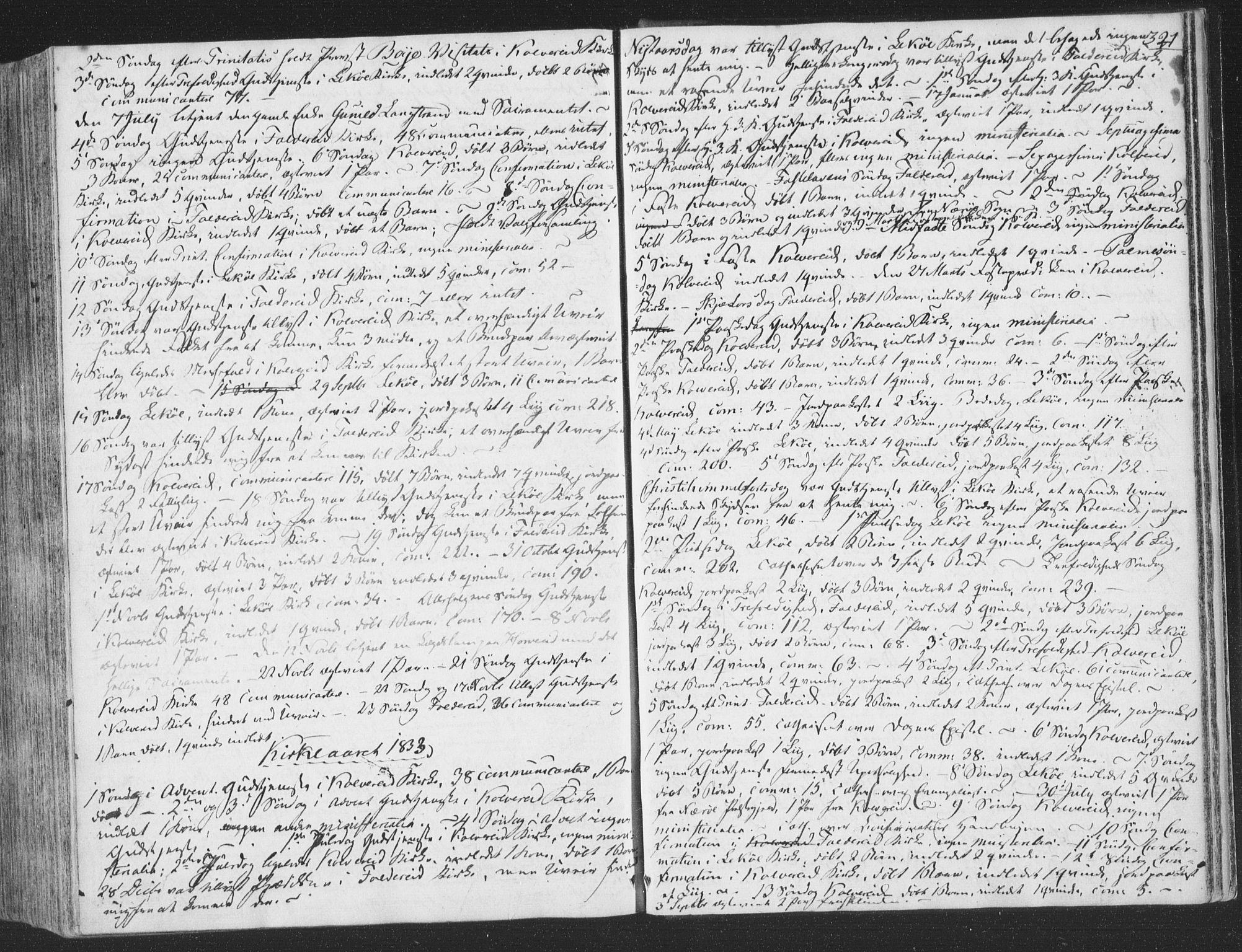 SAT, Ministerialprotokoller, klokkerbøker og fødselsregistre - Nord-Trøndelag, 780/L0639: Ministerialbok nr. 780A04, 1830-1844, s. 321