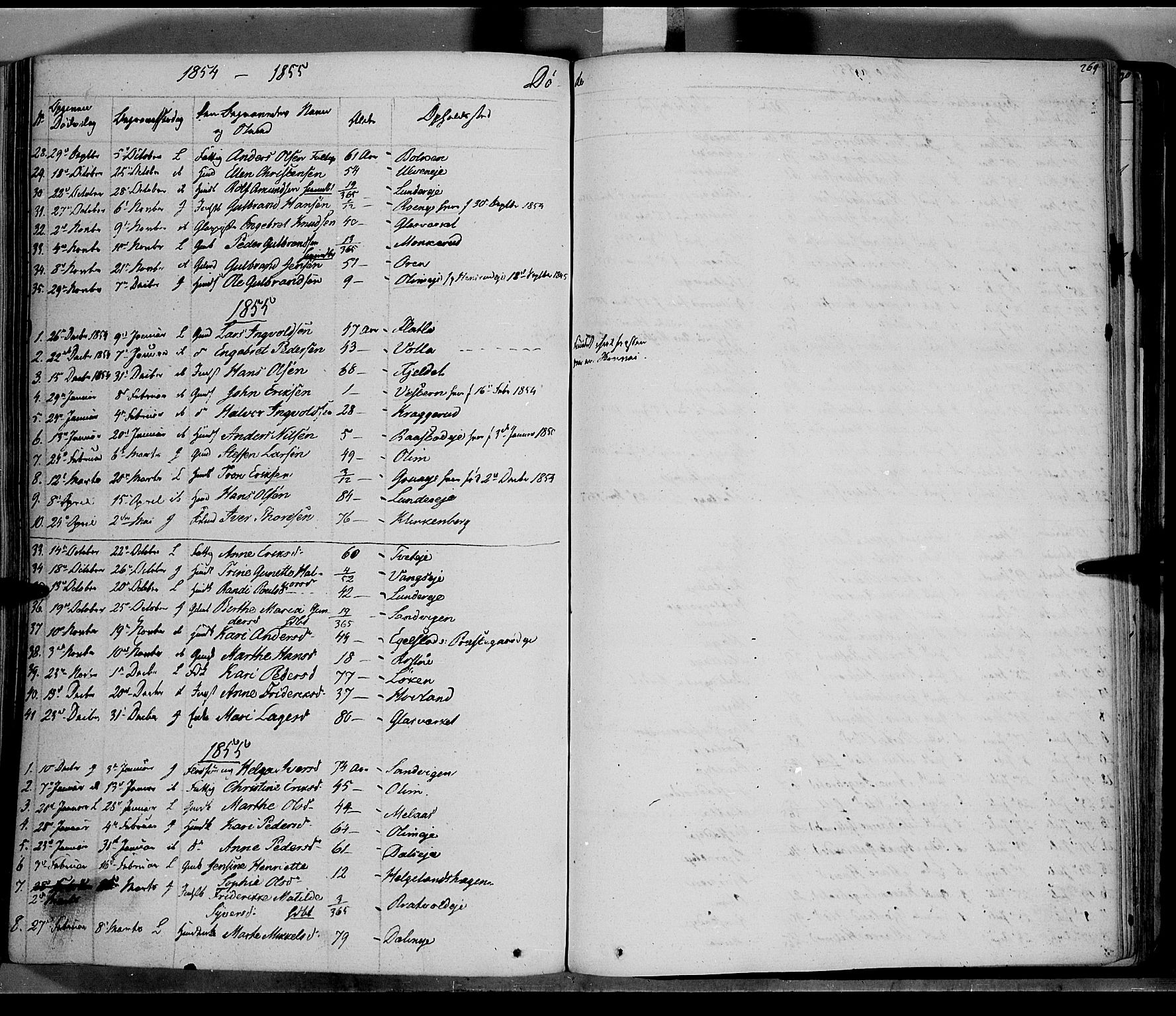 SAH, Jevnaker prestekontor, Ministerialbok nr. 6, 1837-1857, s. 269