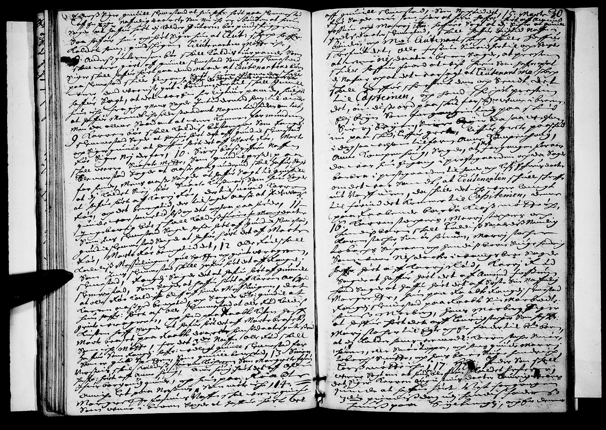 SAKO, Lier, Røyken og Hurum sorenskriveri, F/Fa/L0029: Tingbok, 1688, s. 30