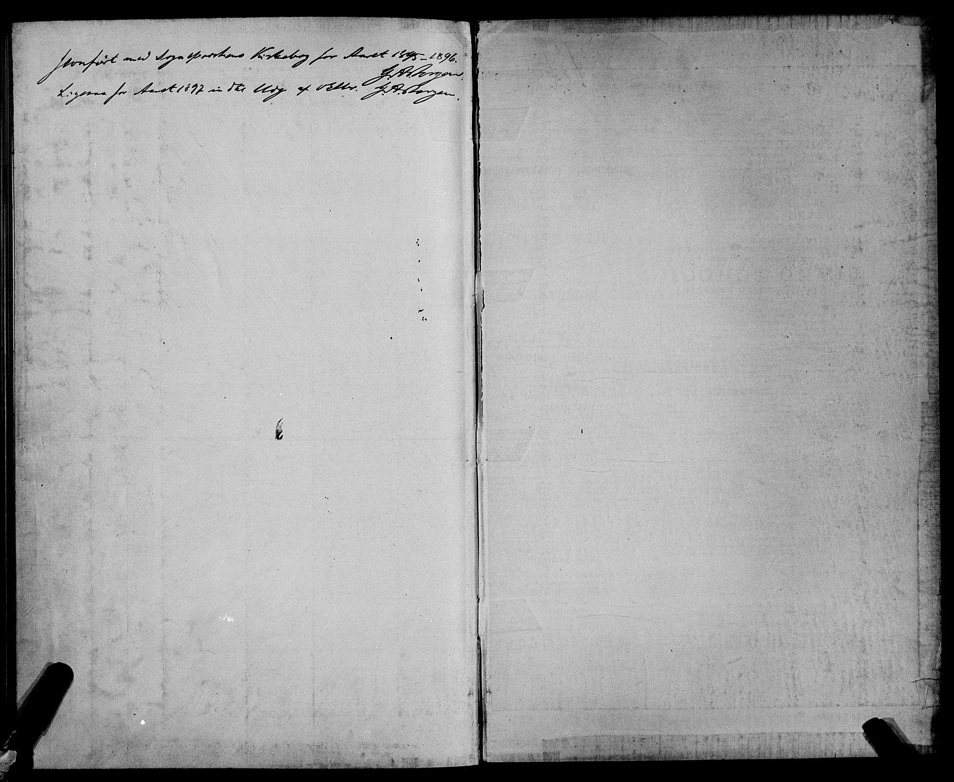 SAT, Ministerialprotokoller, klokkerbøker og fødselsregistre - Sør-Trøndelag, 604/L0224: Klokkerbok nr. 604C07, 1894-1898