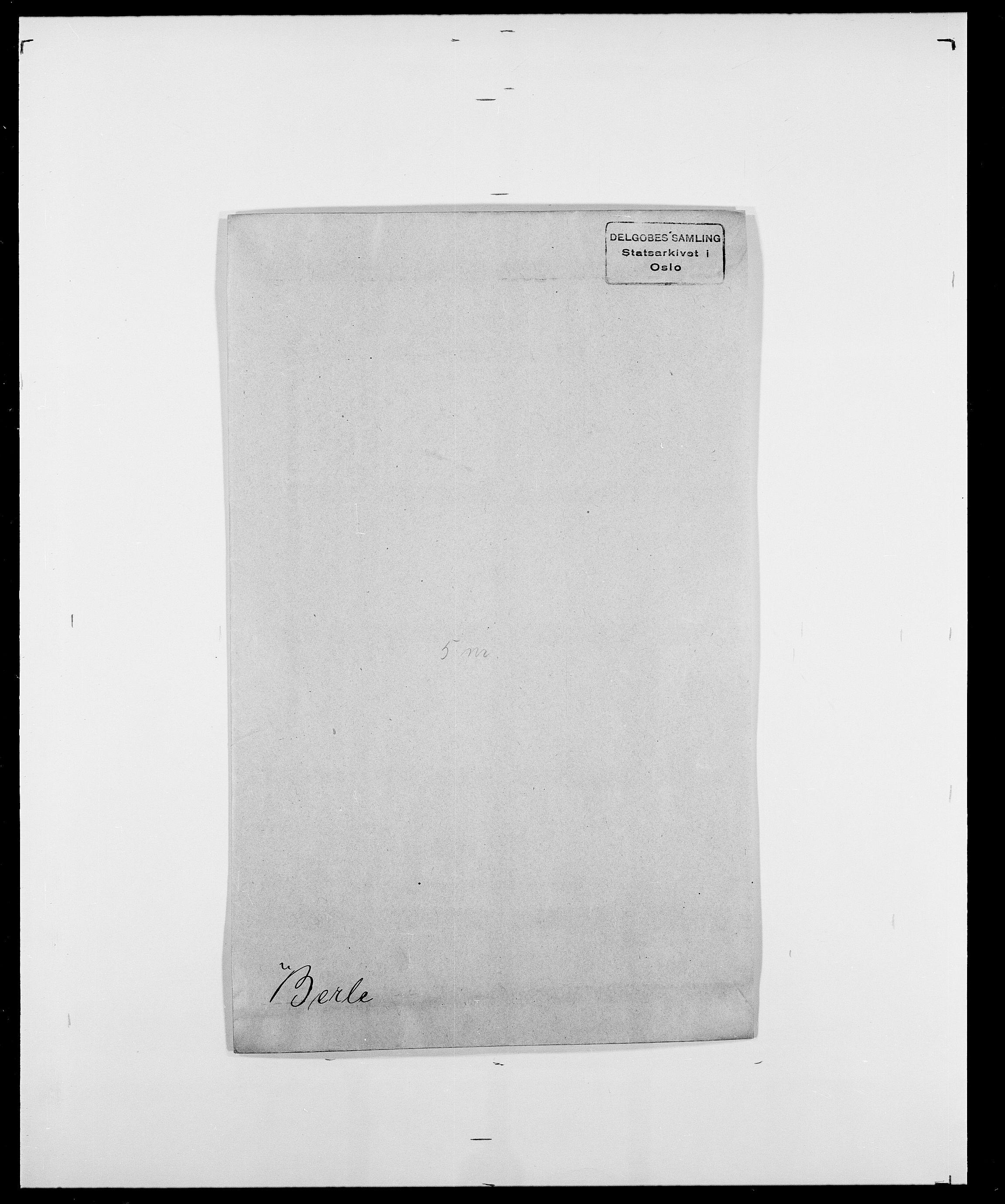 SAO, Delgobe, Charles Antoine - samling, D/Da/L0004: Bergendahl - Blære, s. 51
