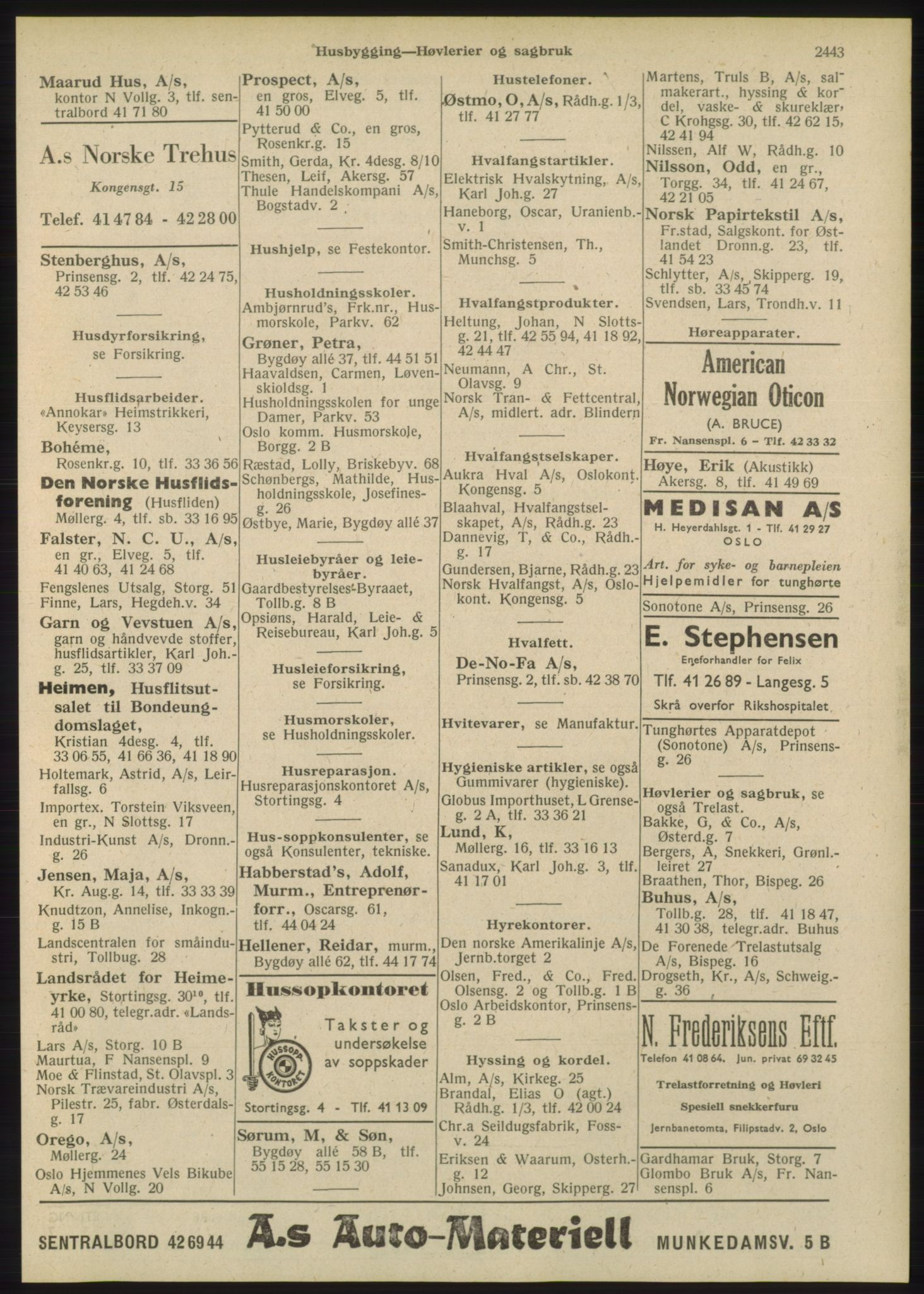 PUBL, Kristiania/Oslo adressebok, 1948, s. 2443