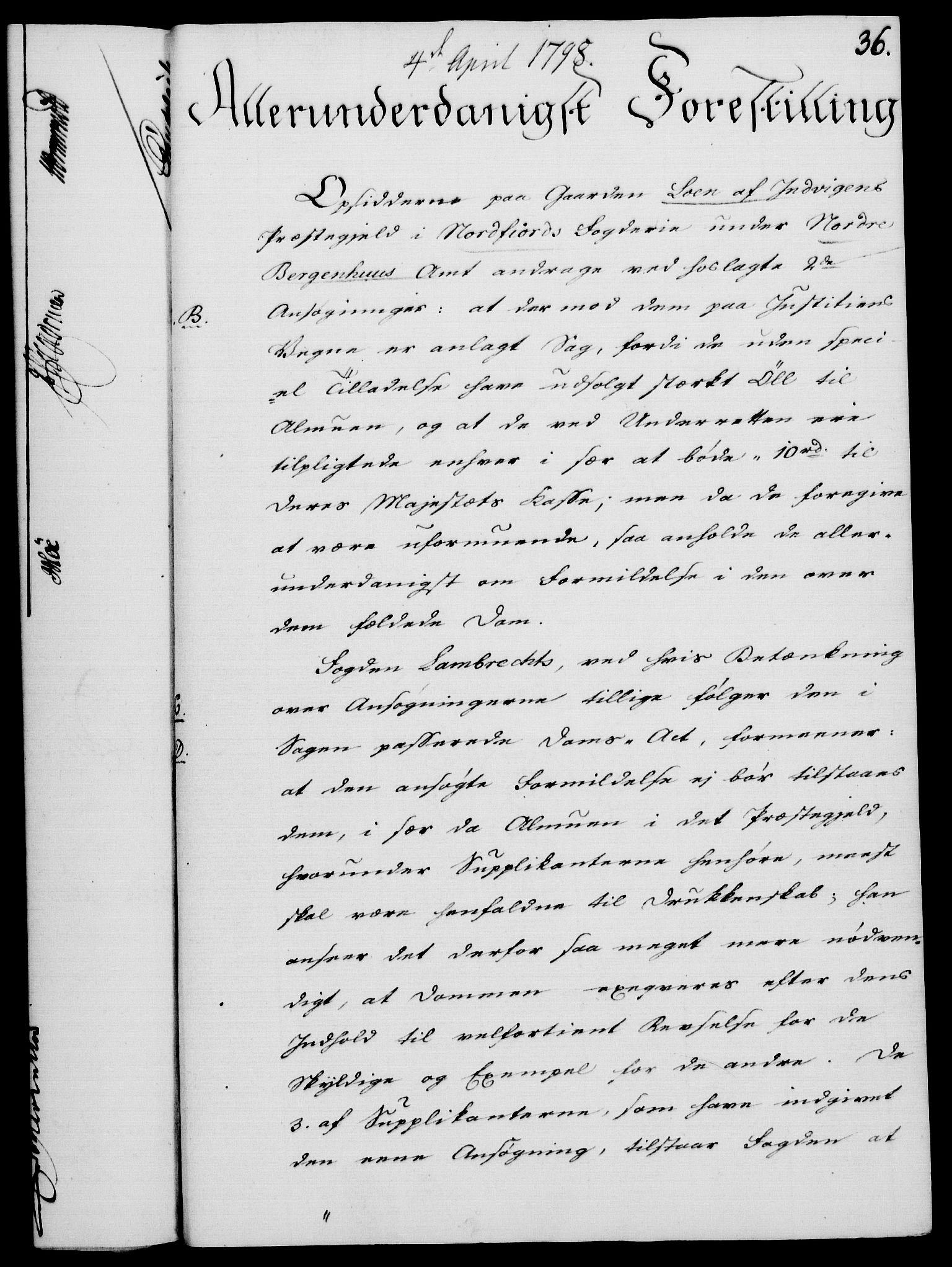 RA, Rentekammeret, Kammerkanselliet, G/Gf/Gfa/L0080: Norsk relasjons- og resolusjonsprotokoll (merket RK 52.80), 1798, s. 270