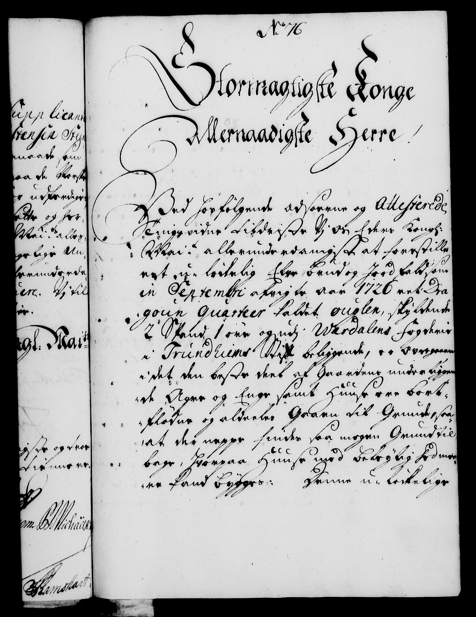 RA, Rentekammeret, Kammerkanselliet, G/Gf/Gfa/L0010: Norsk relasjons- og resolusjonsprotokoll (merket RK 52.10), 1727, s. 544