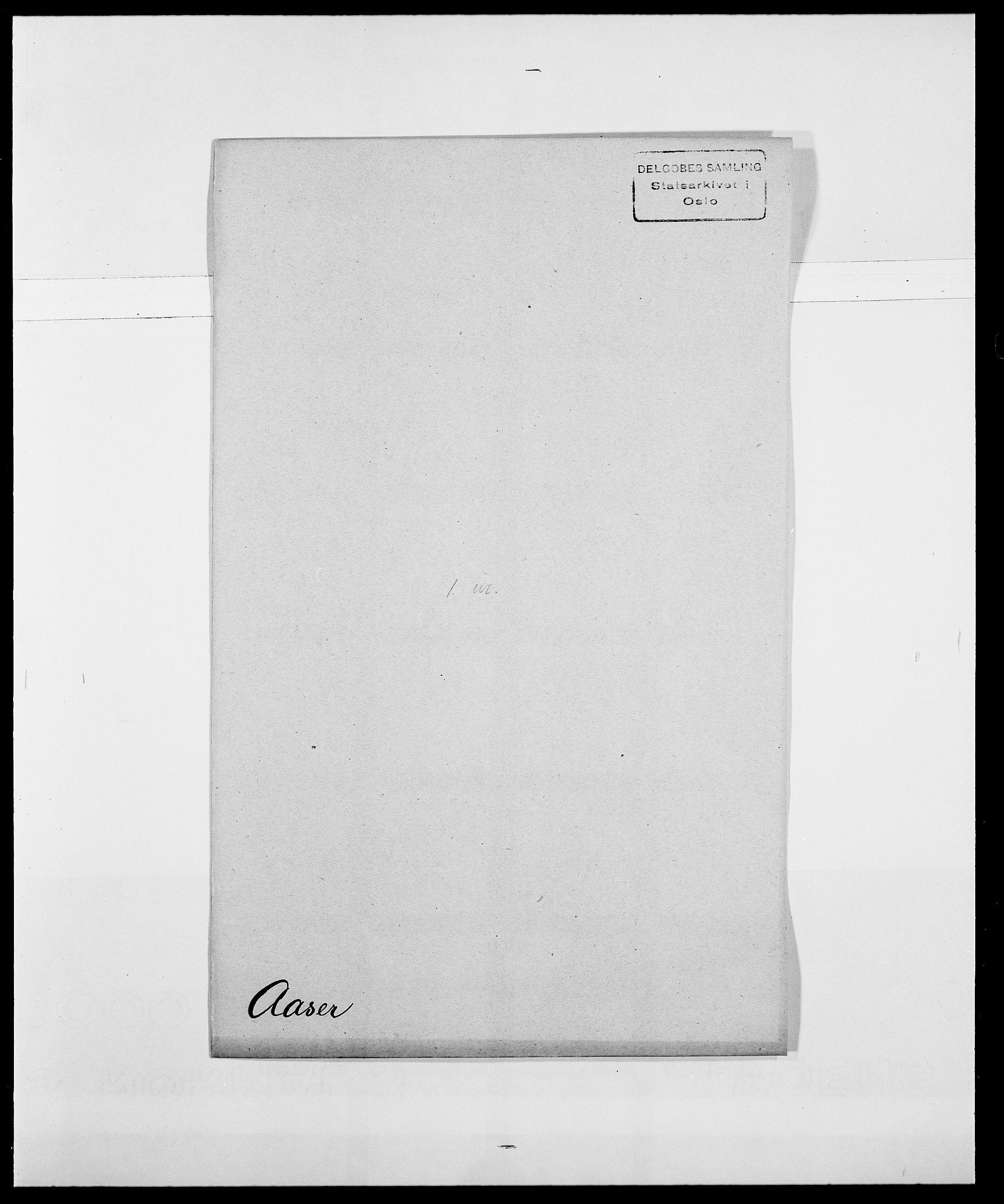 SAO, Delgobe, Charles Antoine - samling, D/Da/L0001: Aabye - Angerman, s. 154
