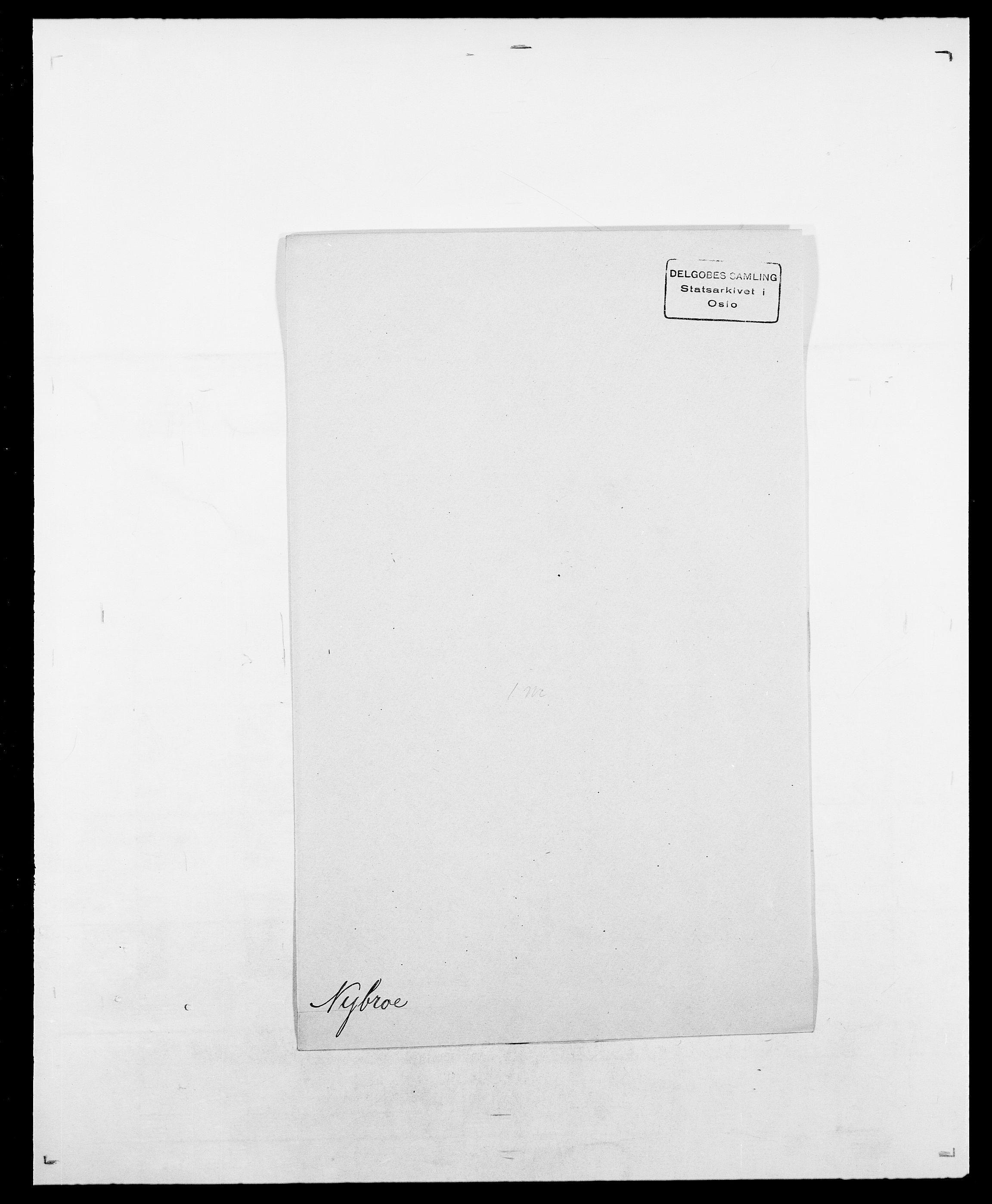 SAO, Delgobe, Charles Antoine - samling, D/Da/L0028: Naaden - Nøvik, s. 523