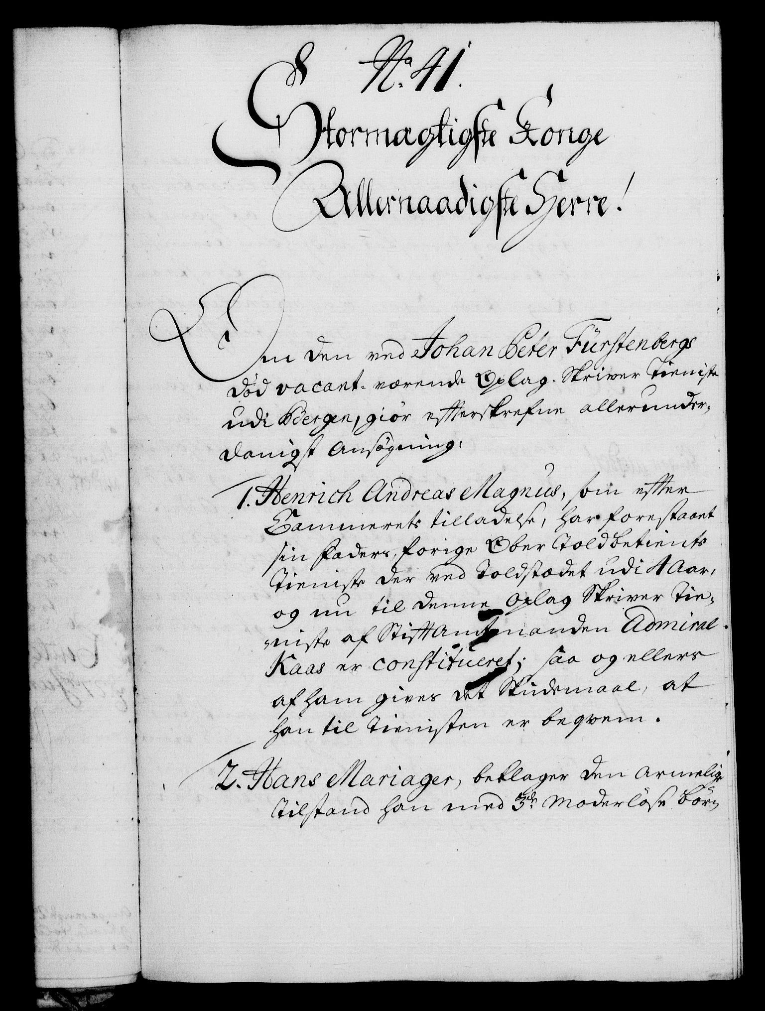 RA, Rentekammeret, Kammerkanselliet, G/Gf/Gfa/L0016: Norsk relasjons- og resolusjonsprotokoll (merket RK 52.16), 1733, s. 249
