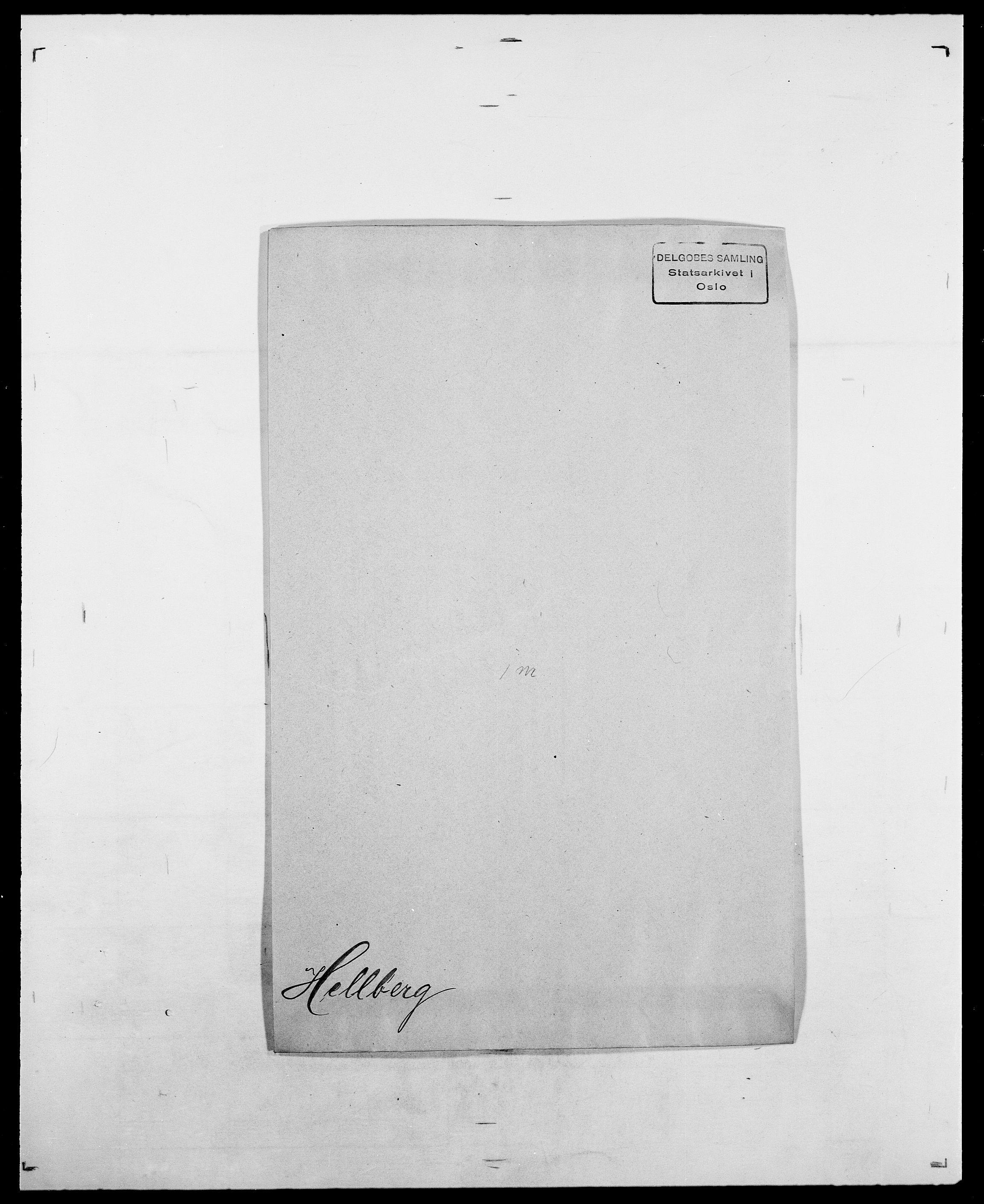 SAO, Delgobe, Charles Antoine - samling, D/Da/L0017: Helander - Hjørne, s. 43